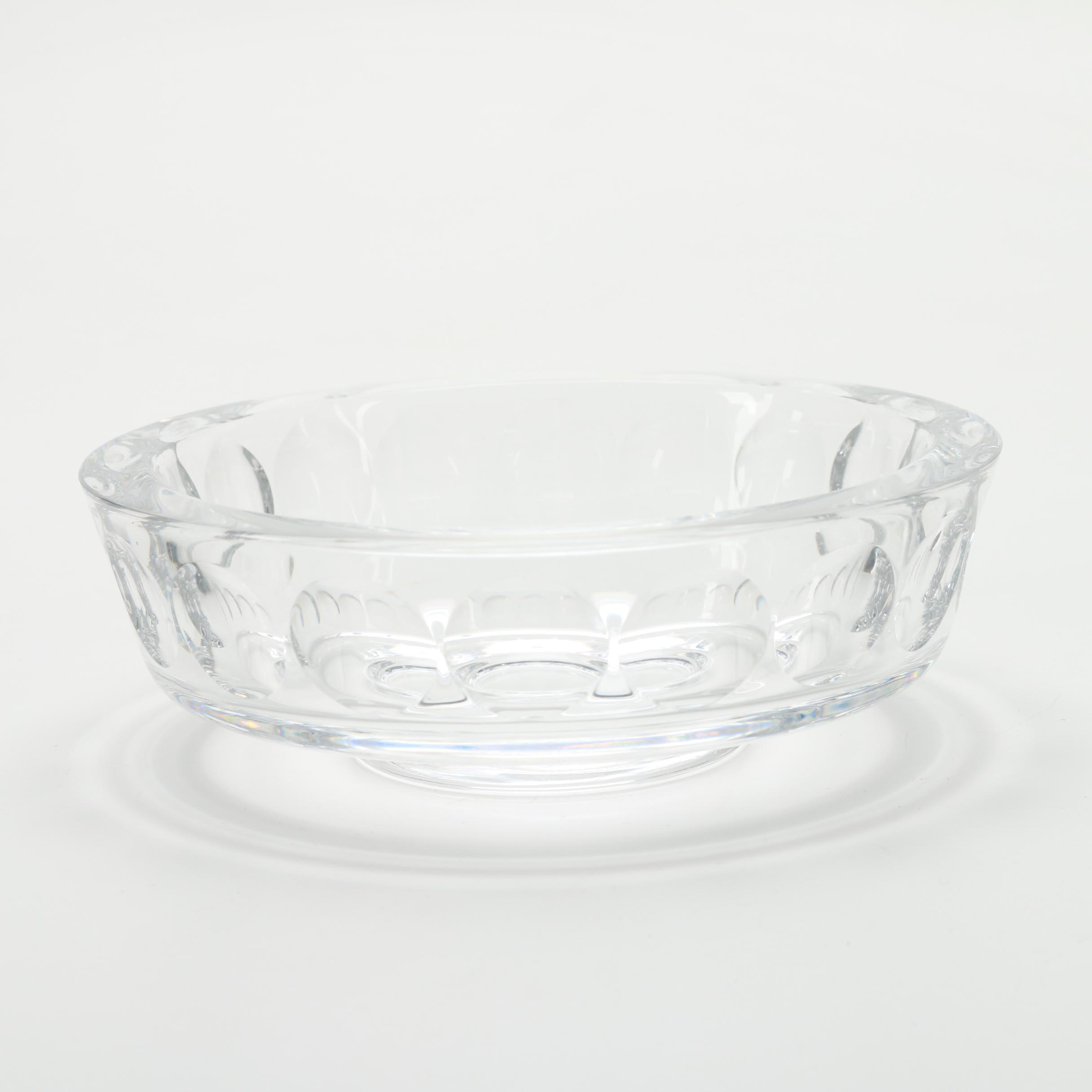 Orrefors Art Glass Bowl