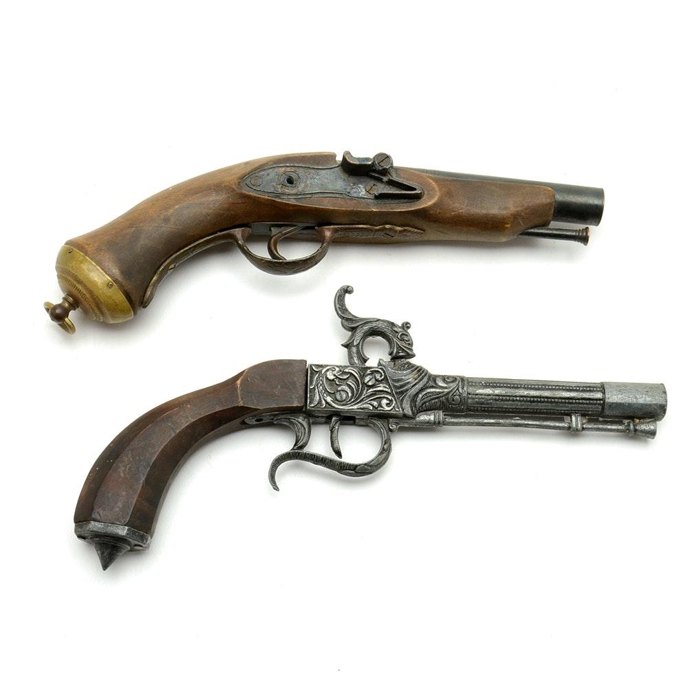 Pair Of Replica Pistol Firearms