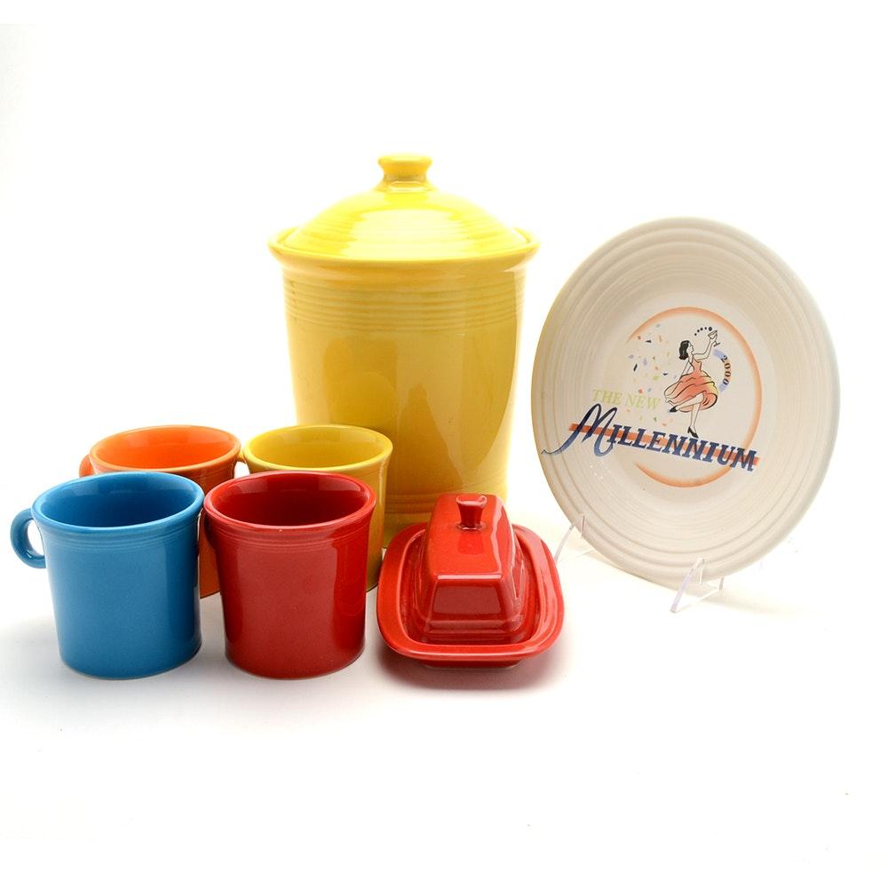 Collection of Fiesta Dinnerware Accessories
