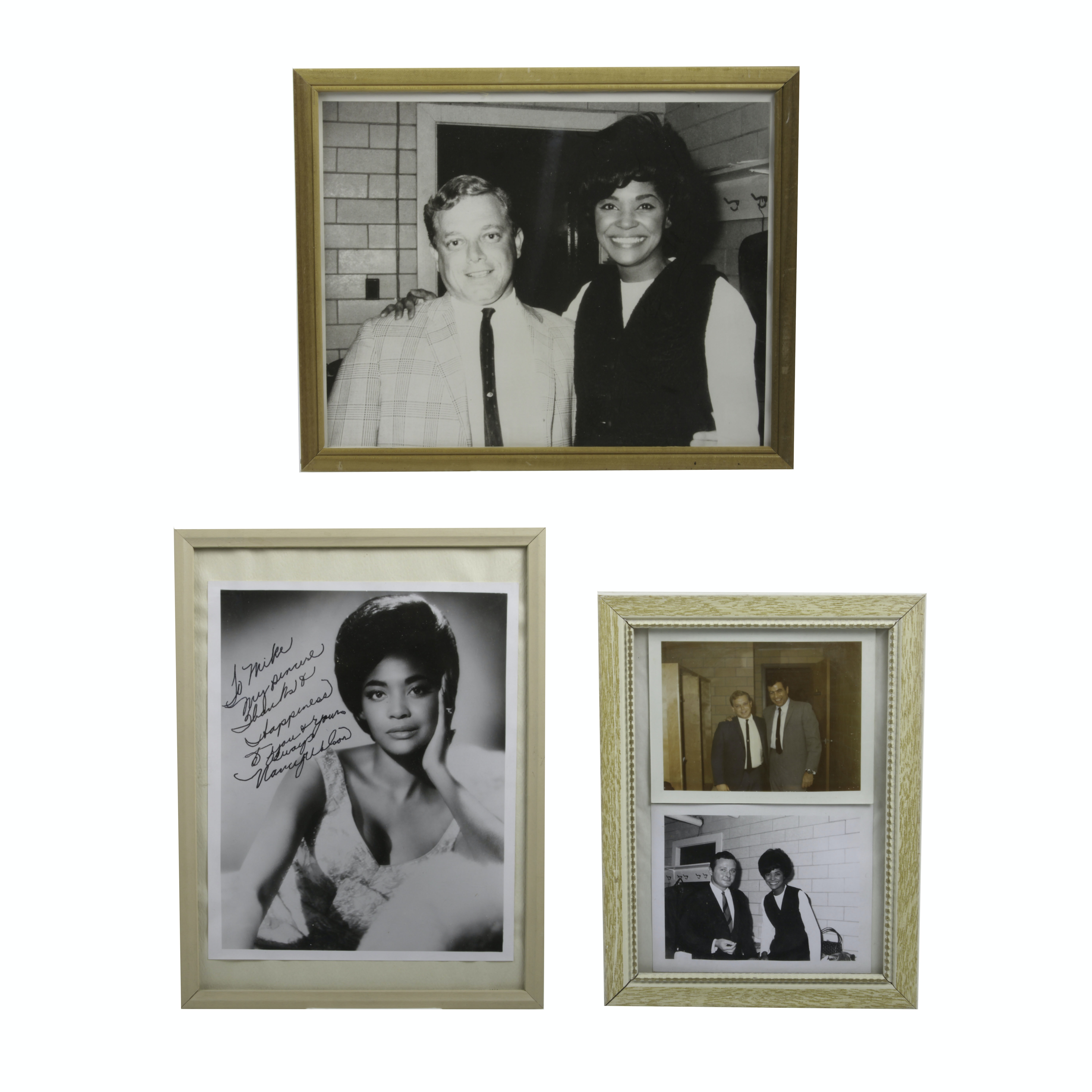 Photographs Of Nancy Wilson Including One Autographed