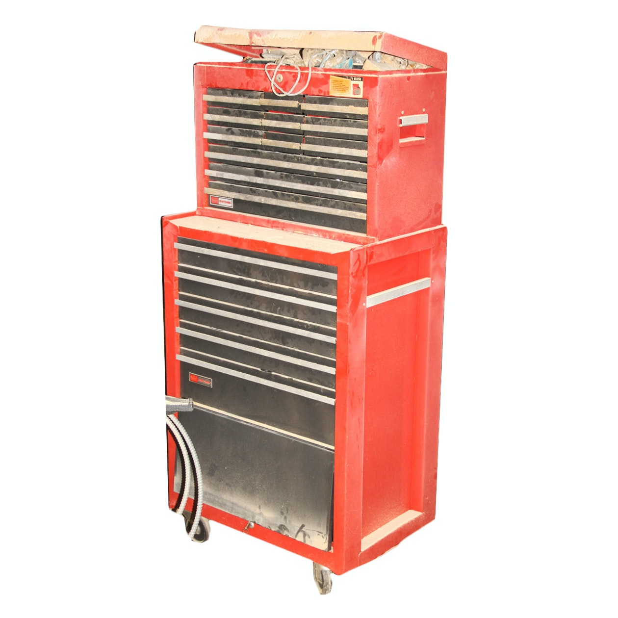 Mechanic's Rolling Cart with Contents by Craftsman