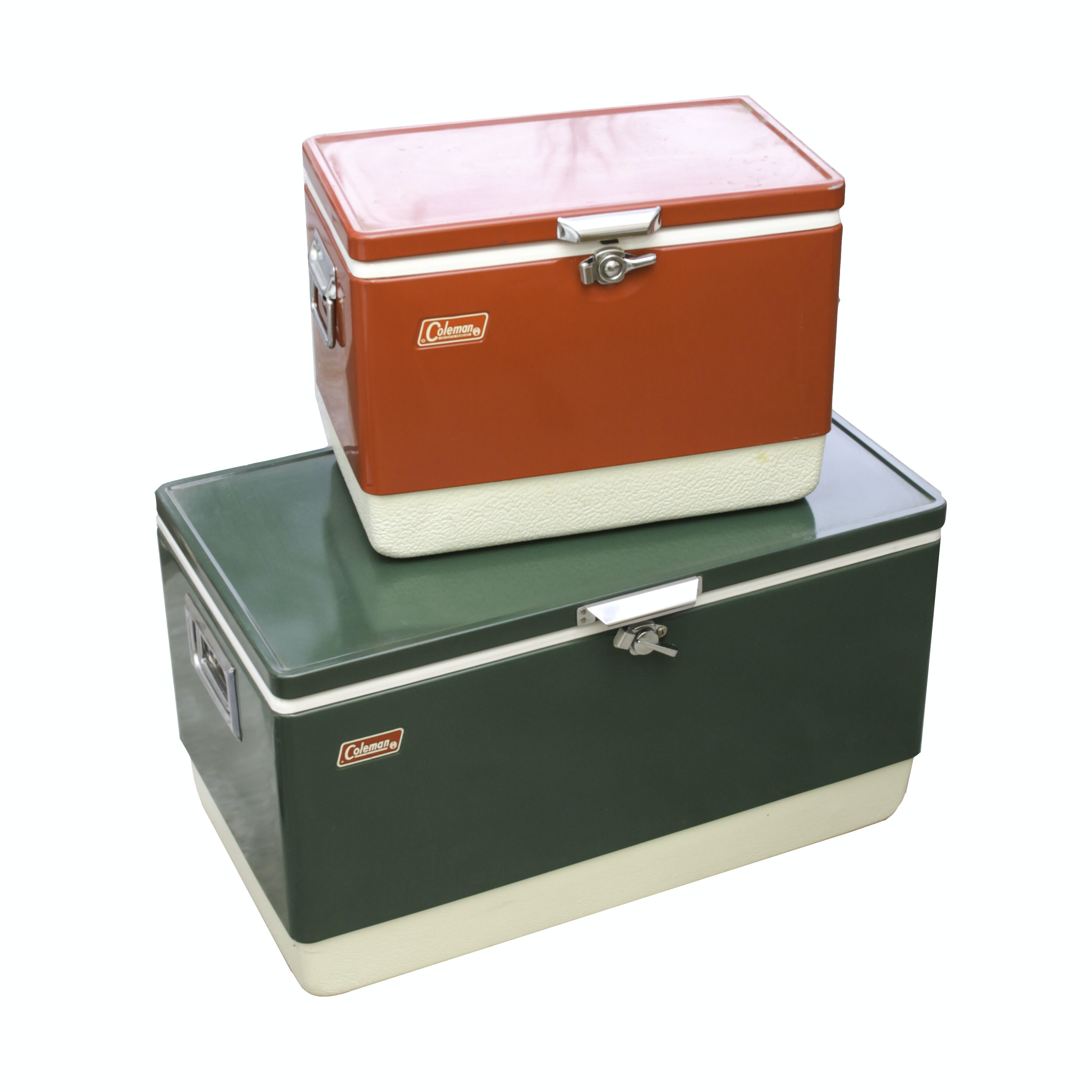 Pair of Coleman Coolers