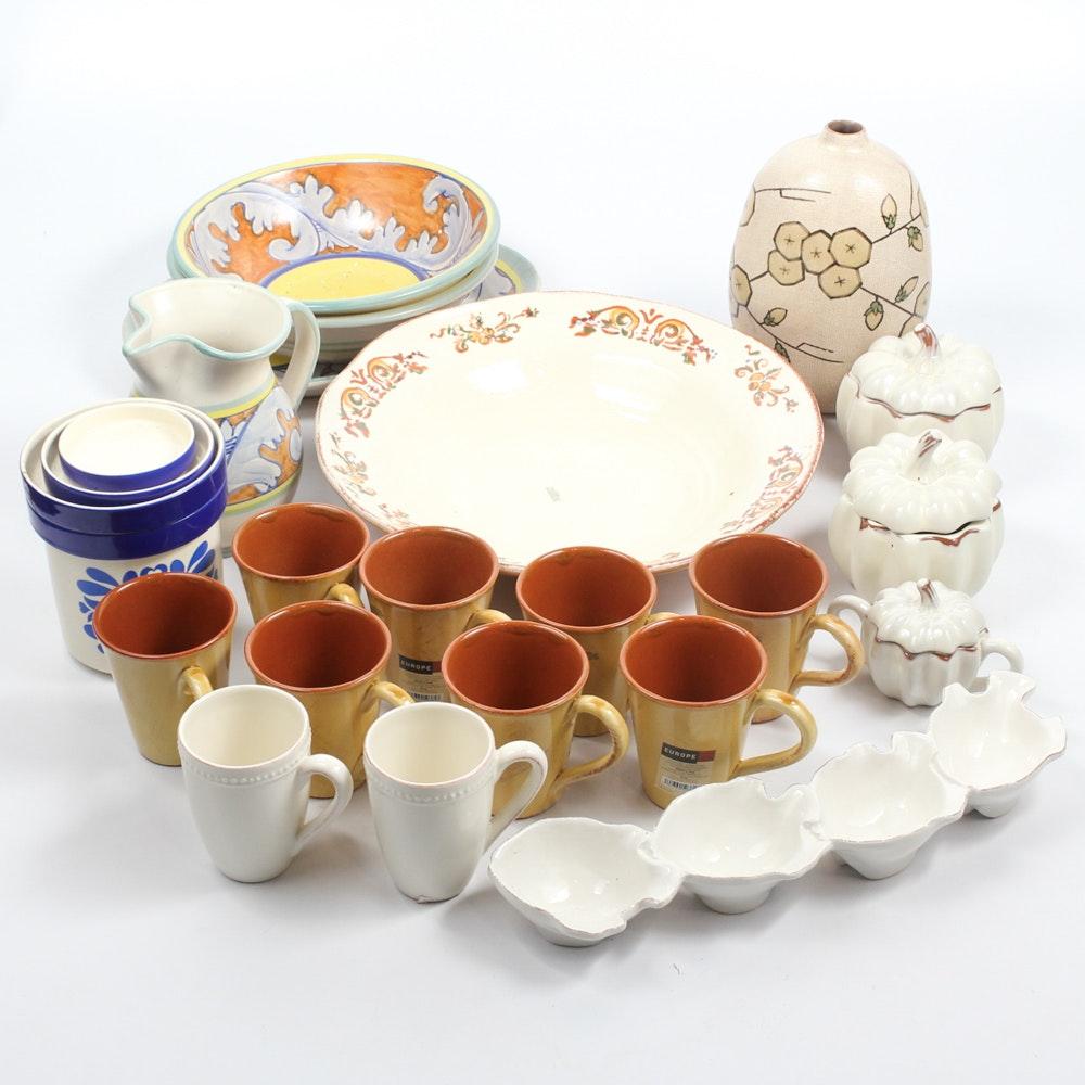 Ceramic Tableware Collection