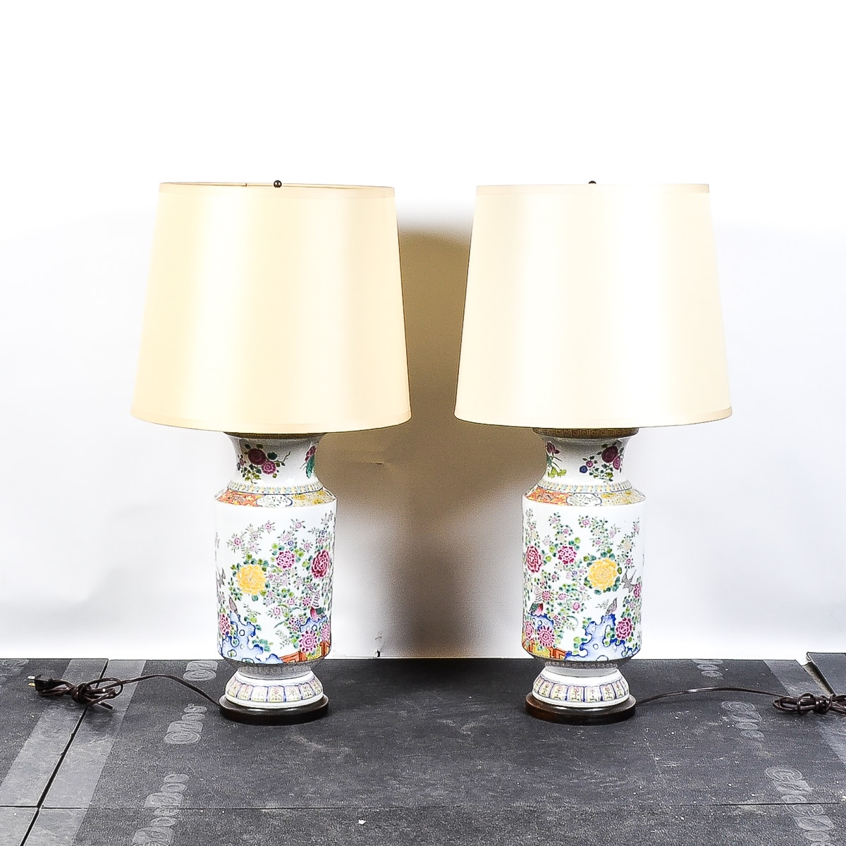 Pair of Chinese Inspired Table Lamps