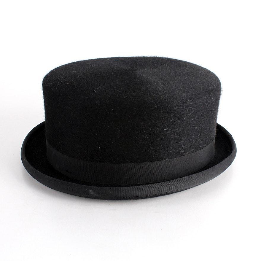 Dobbs Fifth Avenue Vintage Hat Box and Blue Ridge Equestrian Top Hat   EBTH c70d439b9d6