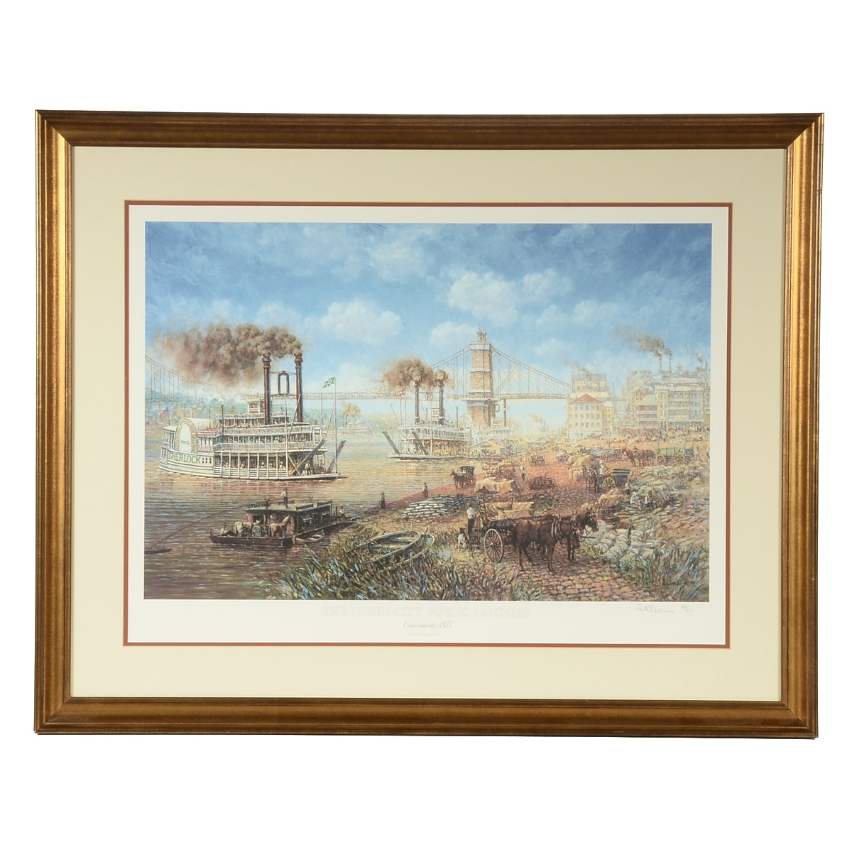 Frank McElwain Limited Edition Offset Lithograph