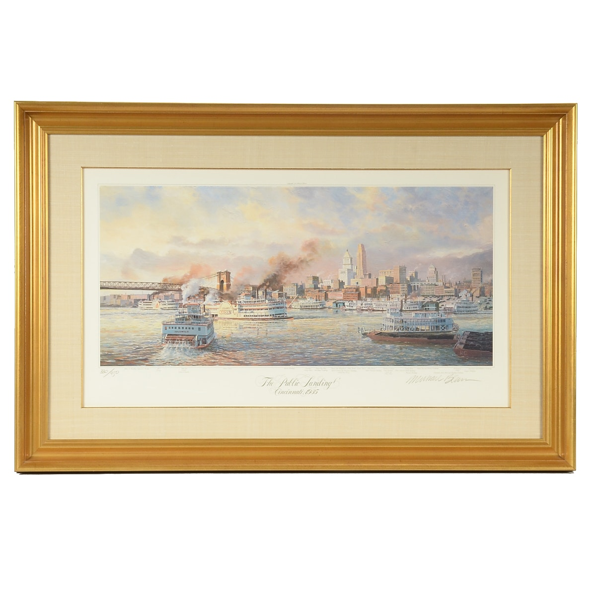Michael Blaser Limited Edition Offset Lithograph
