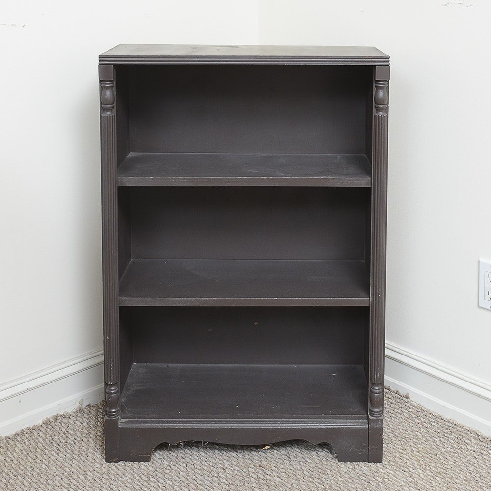 Vintage Three Shelf Bookcase