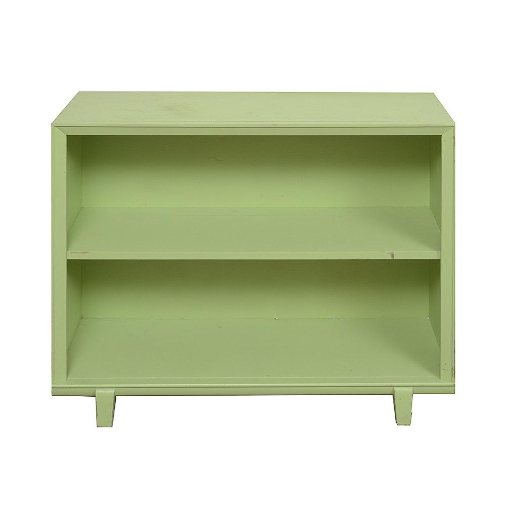 Vintage Green Book Case