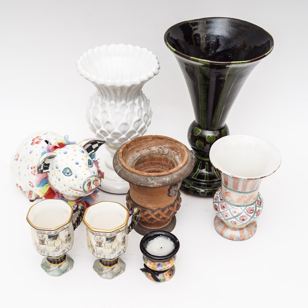 Collection of Mackenzie-Childs Home Decor