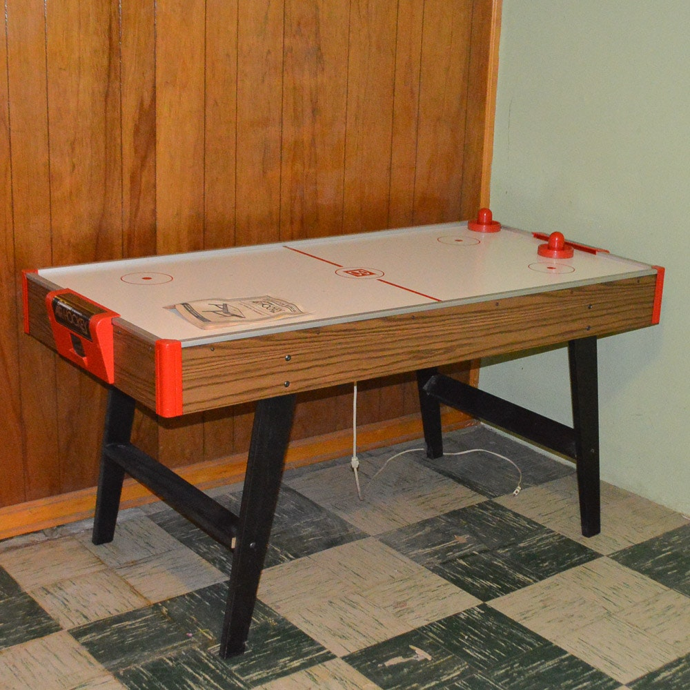 1970s Brunswick Challenger Air Hockey Table ...