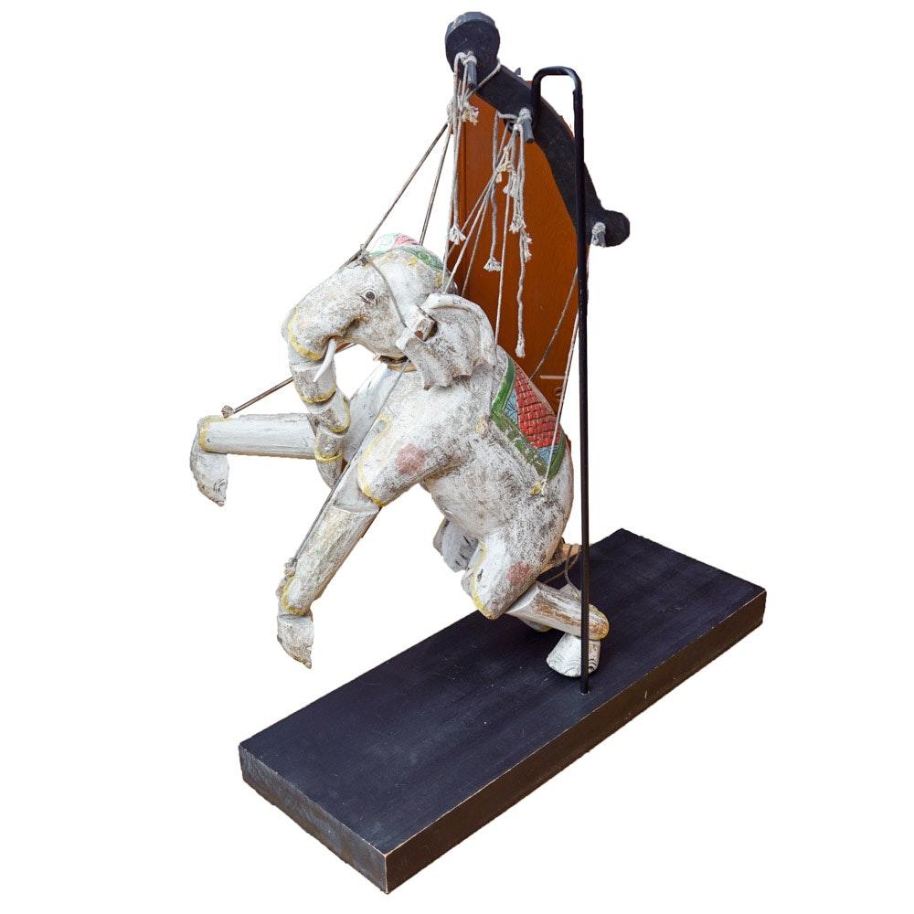 Elephant Marionette Puppet