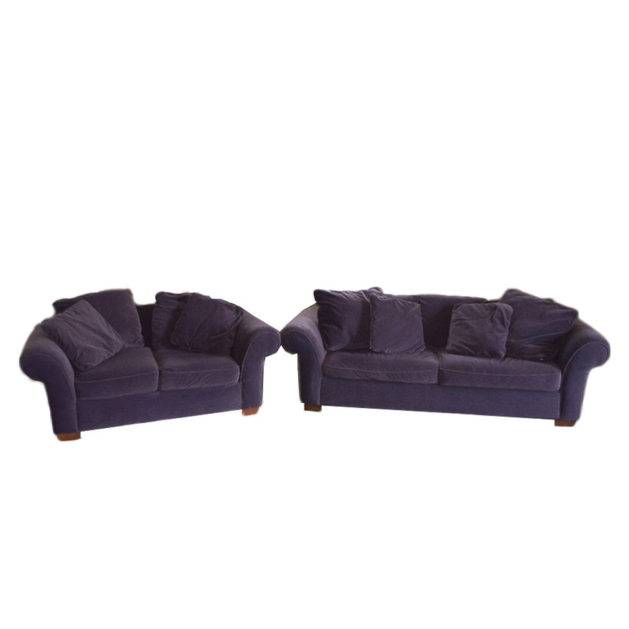 Contemporary Sofa and Loveseat by Bauhaus