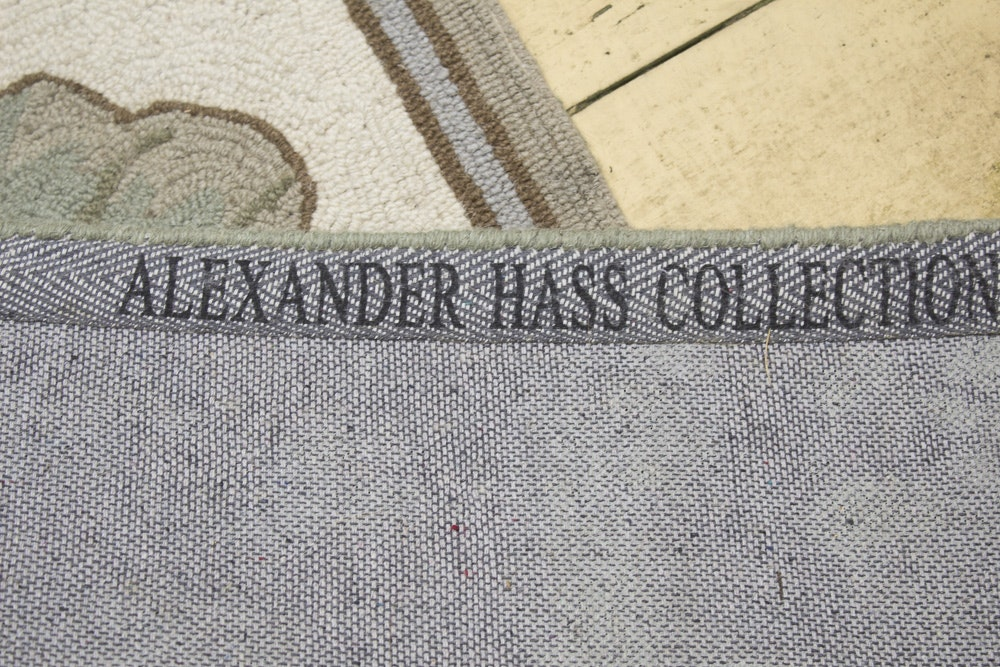 Hand Hooked Alexander Hass Collection Quot Bird Amp Flower Quot Wool