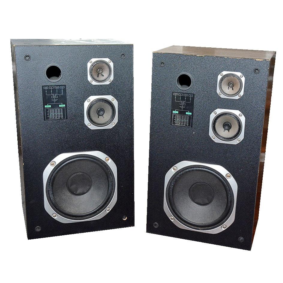 Sylvania 3-Way Floor Speakers