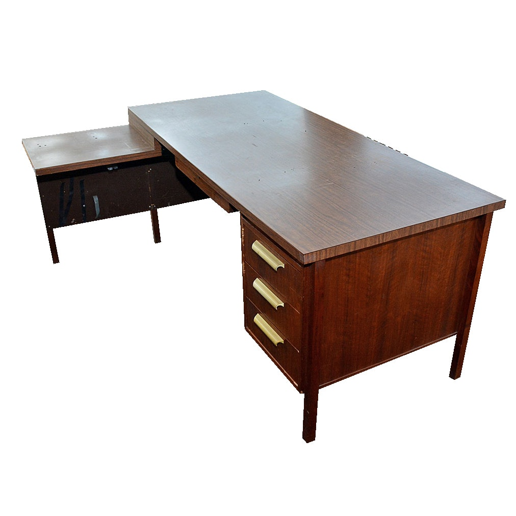 Mid-Century Office Desk by Pavlow