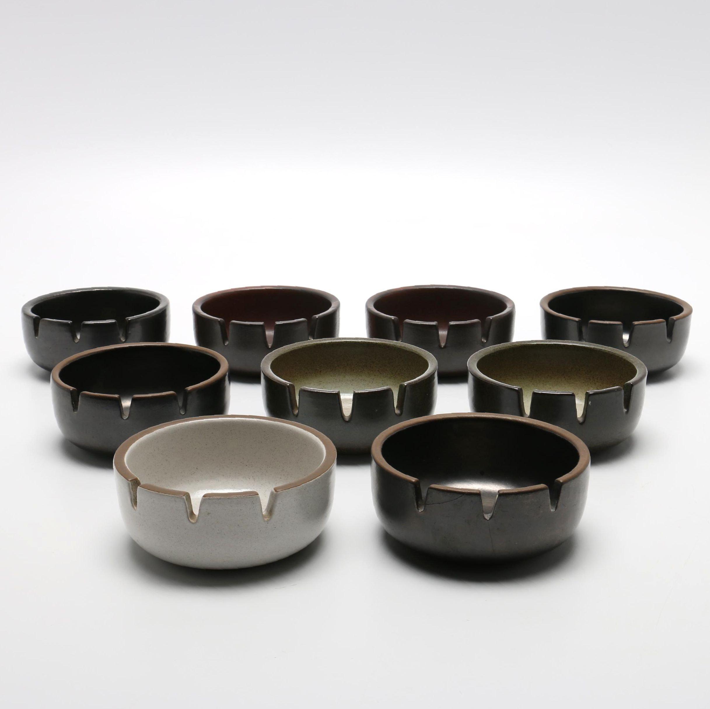 Heath Ceramic Ashtrays