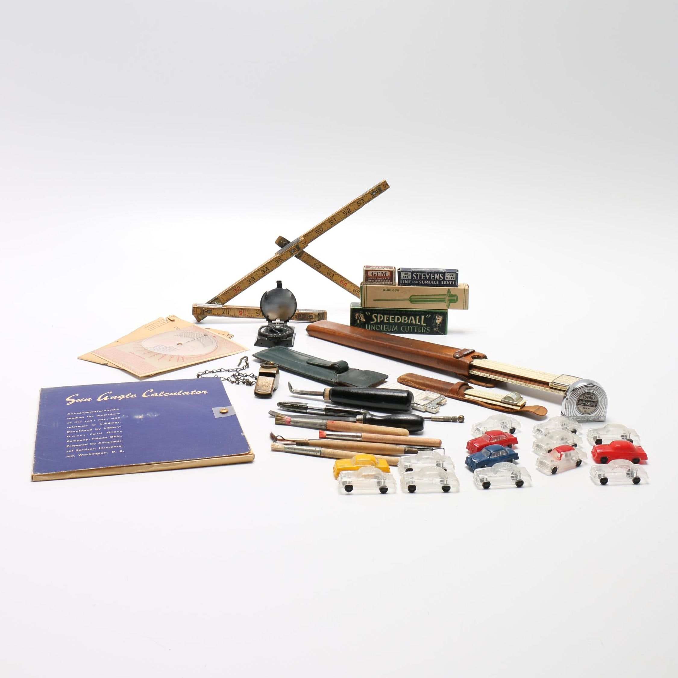 Slide Rules and Other Desktop Tools and Accessories