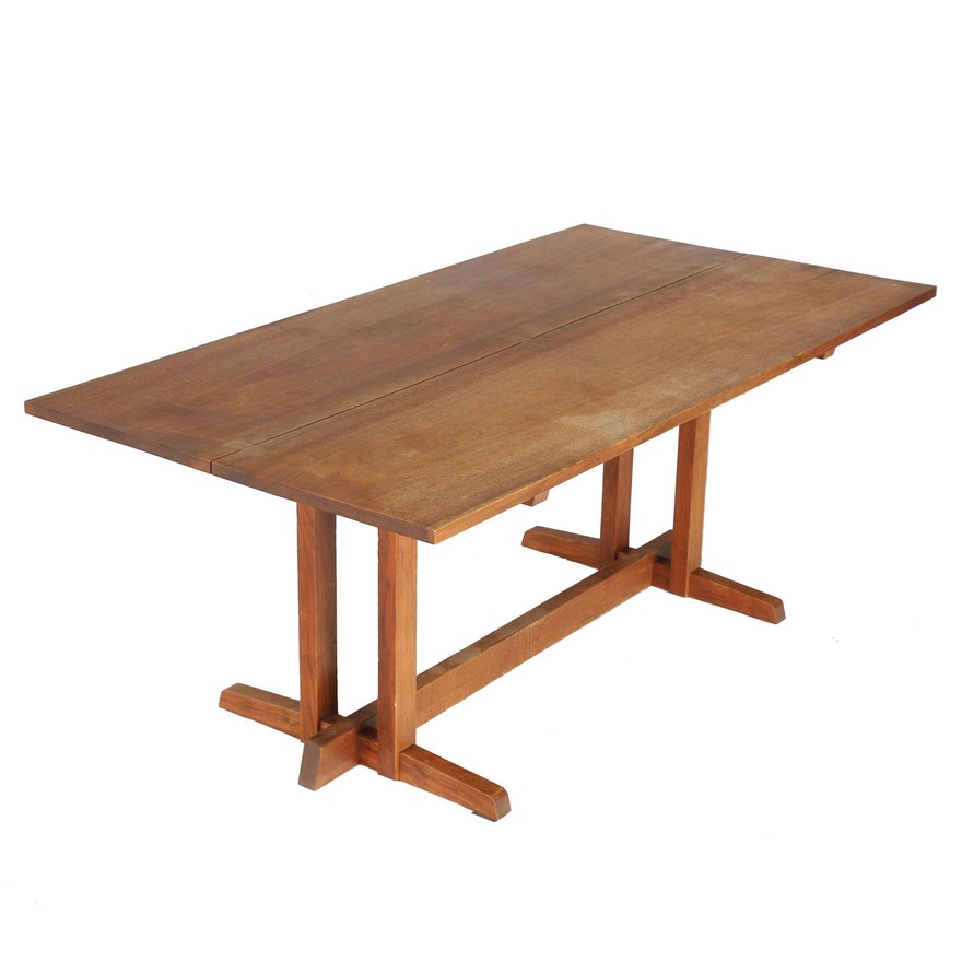 """Vintage George Nakashima """"Frenchman's Cove II"""" Dining Table With Provenance"""