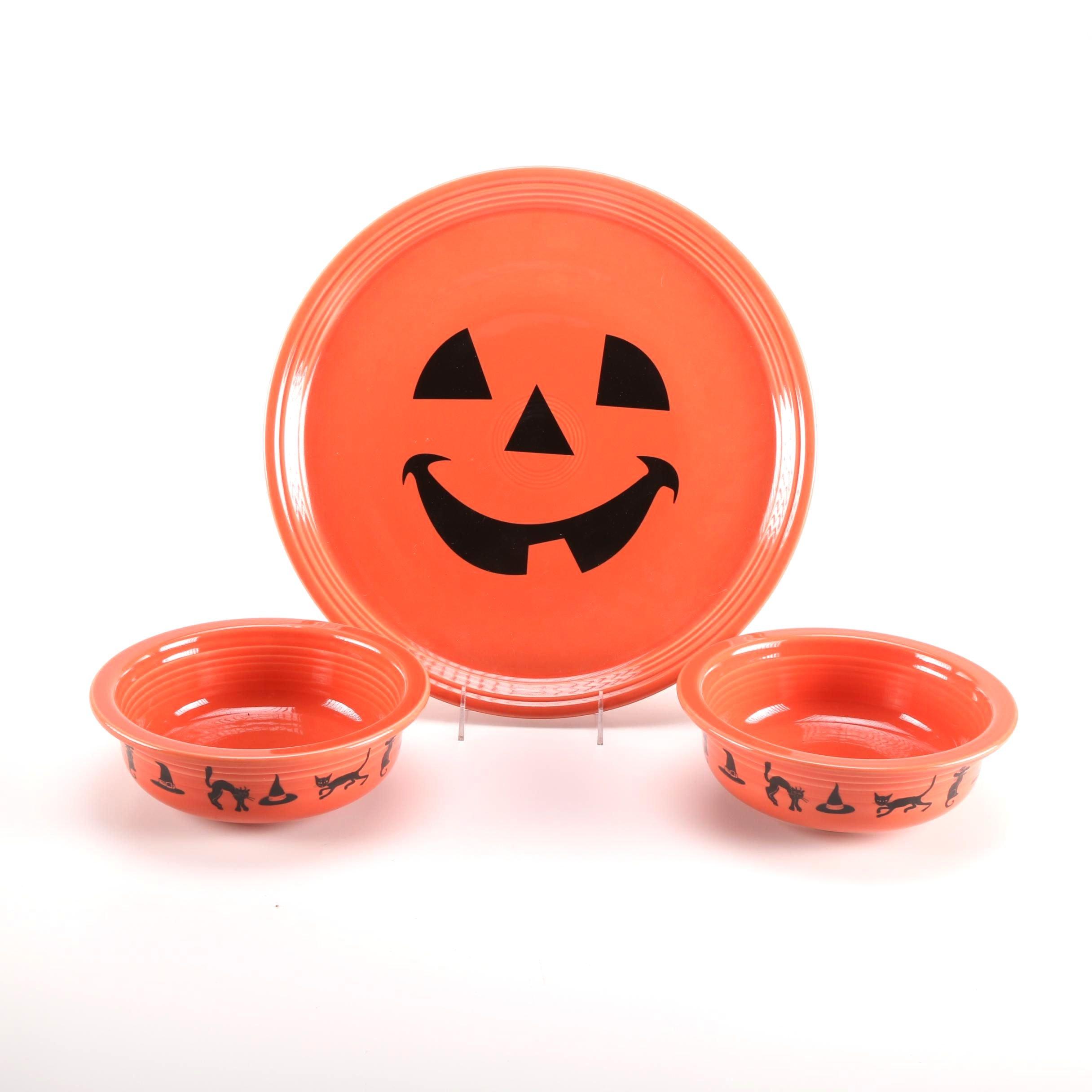 Halloween Fiestaware Set
