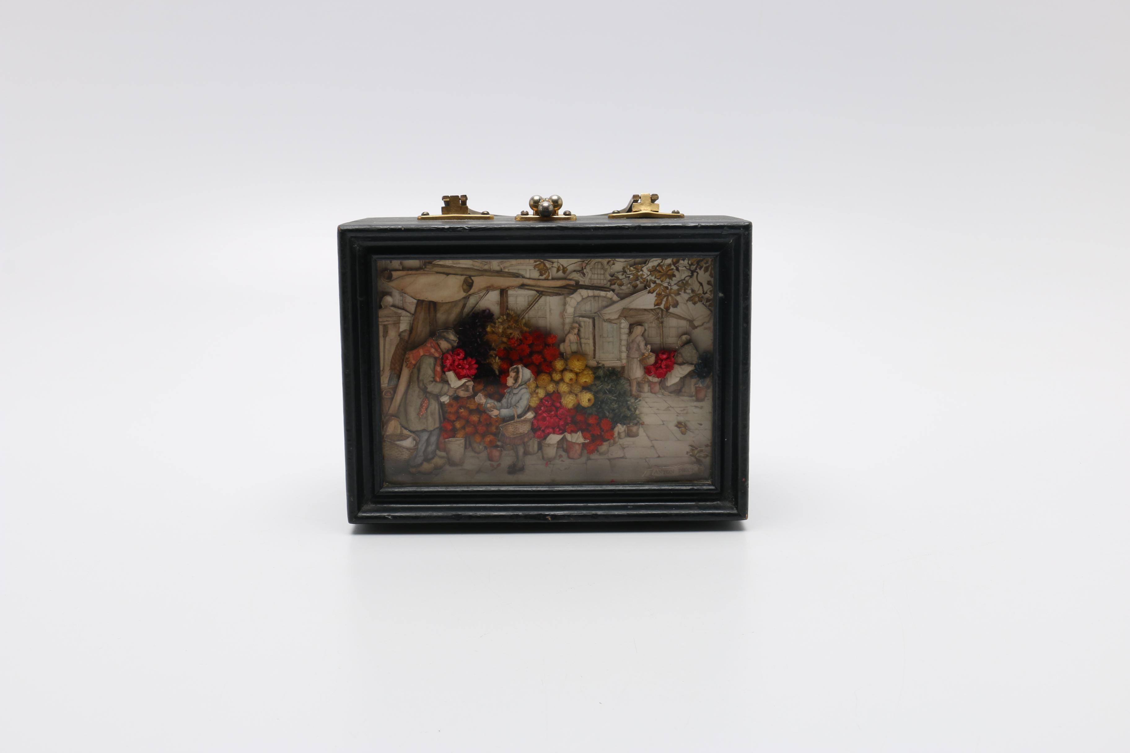 Vintage Anton Pieck Shadow Box Handbag