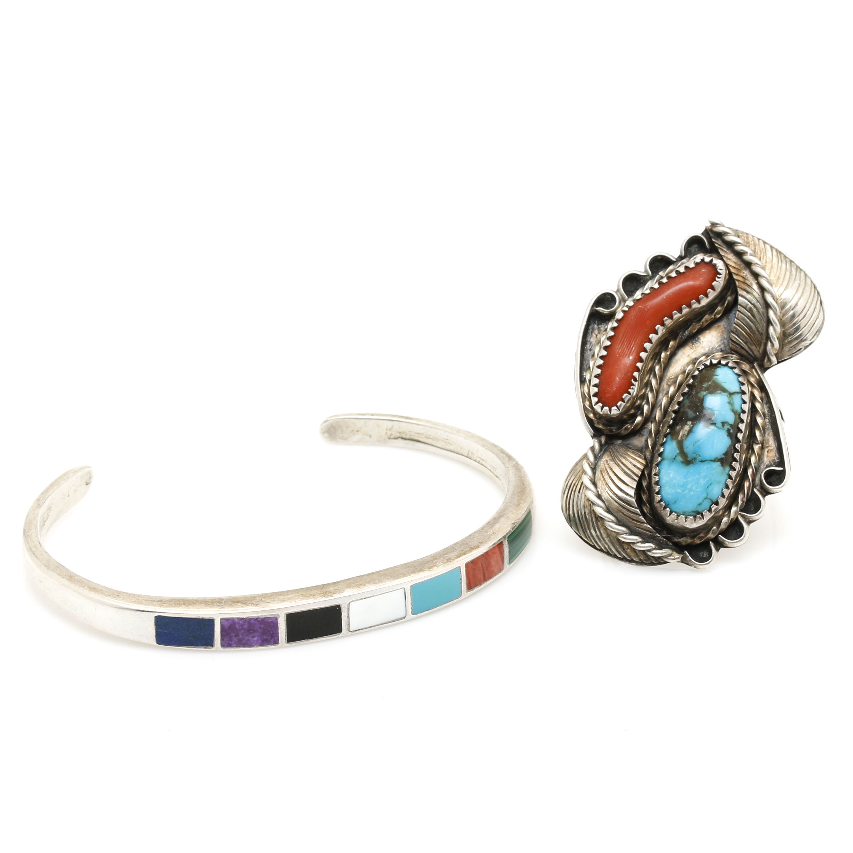 Navajo Sterling Silver Gemstone Jewelry Featuring Raymond Yazzie and Mary and Richard Thomas