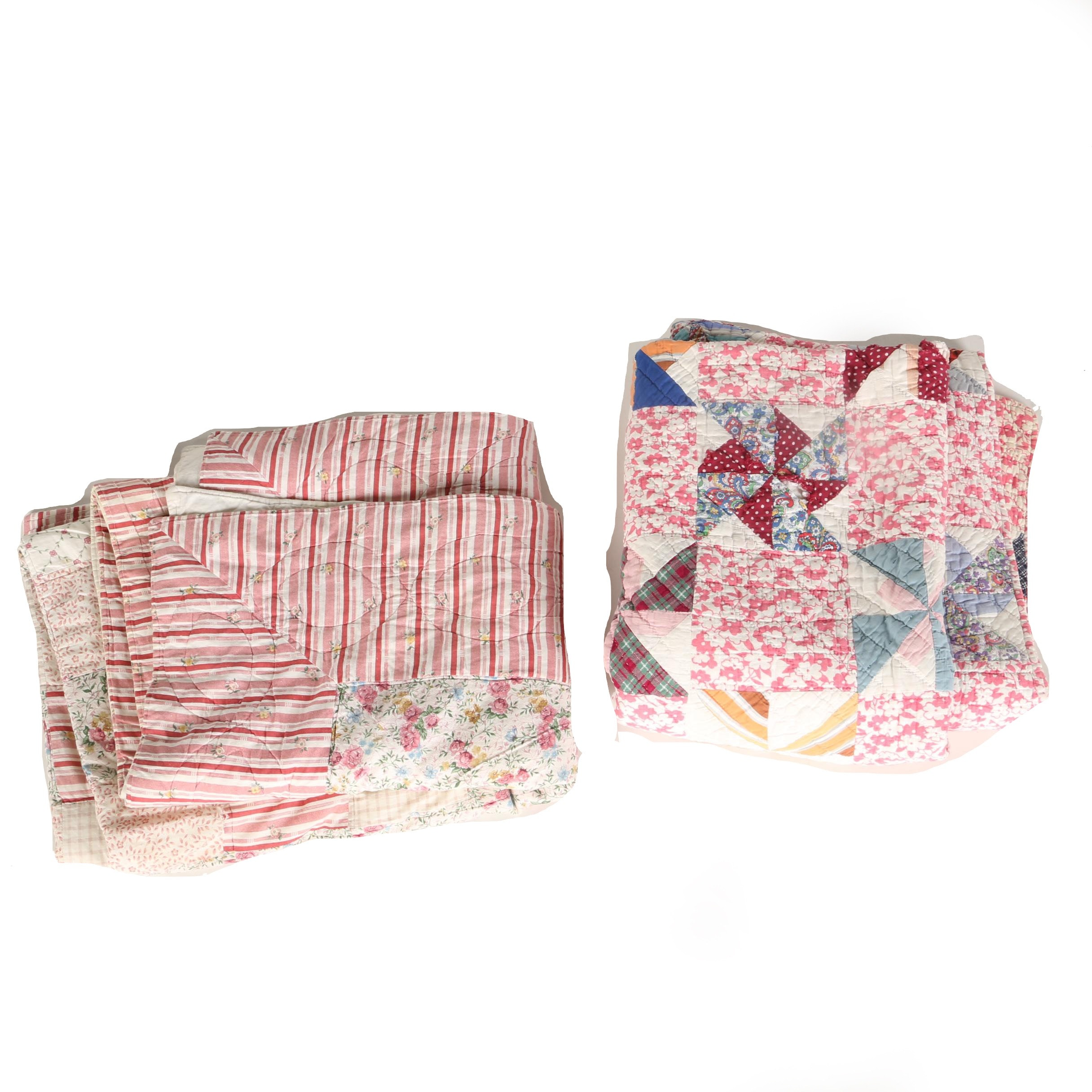 Handmade Rose Tone Quilts