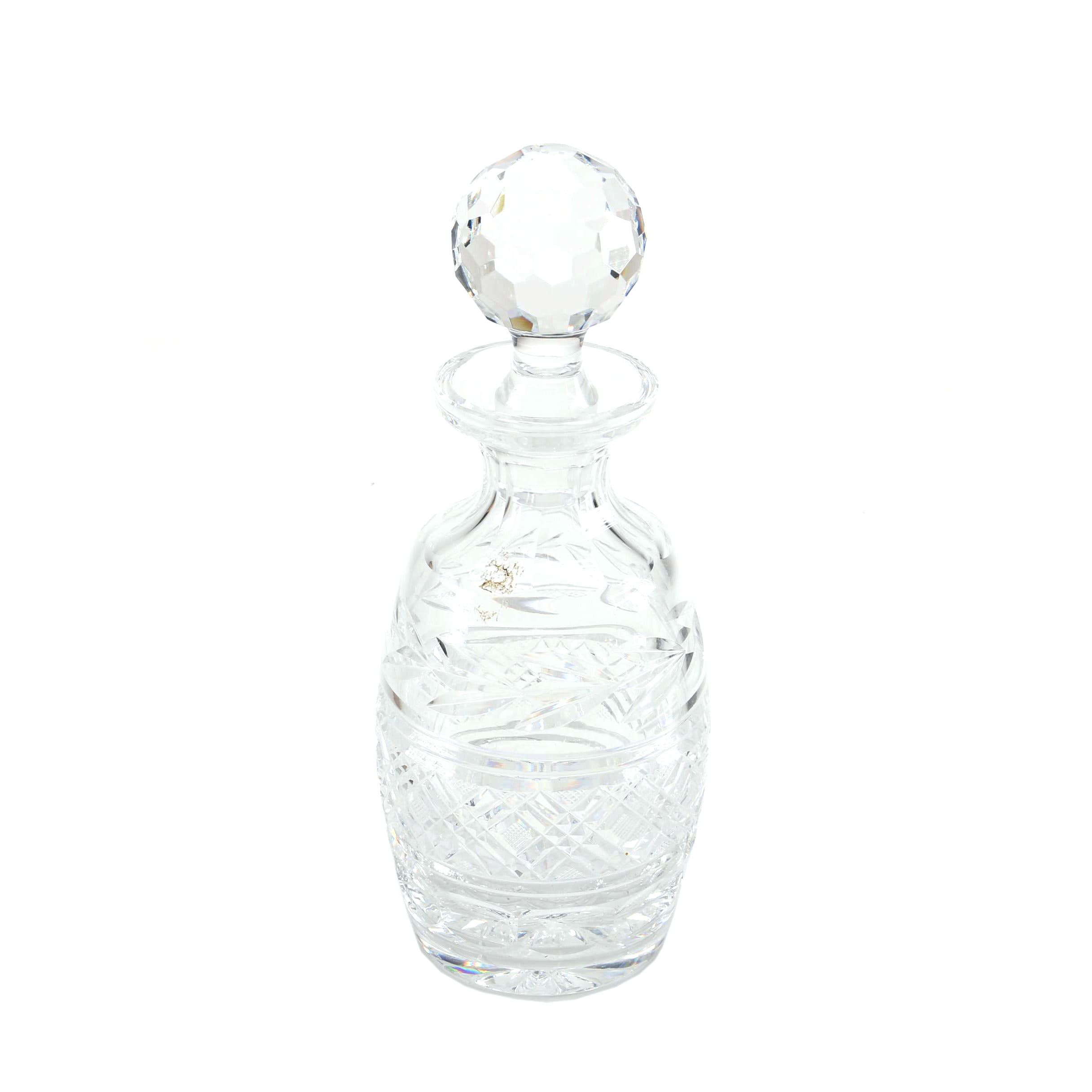 "Waterford ""Glandore"" Crystal Decanter"