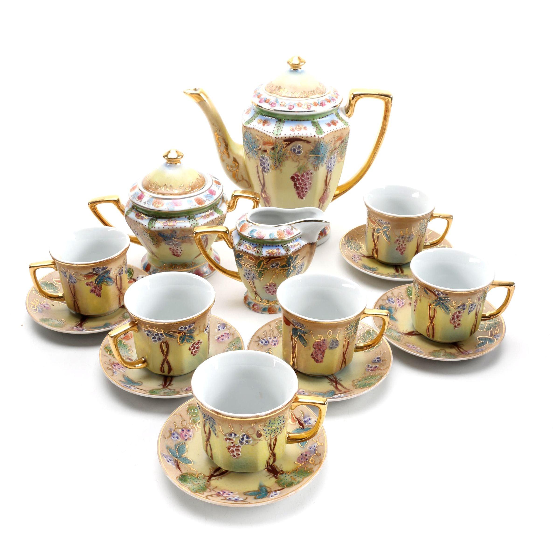 Imperial Nippon Porcelain Tea Set