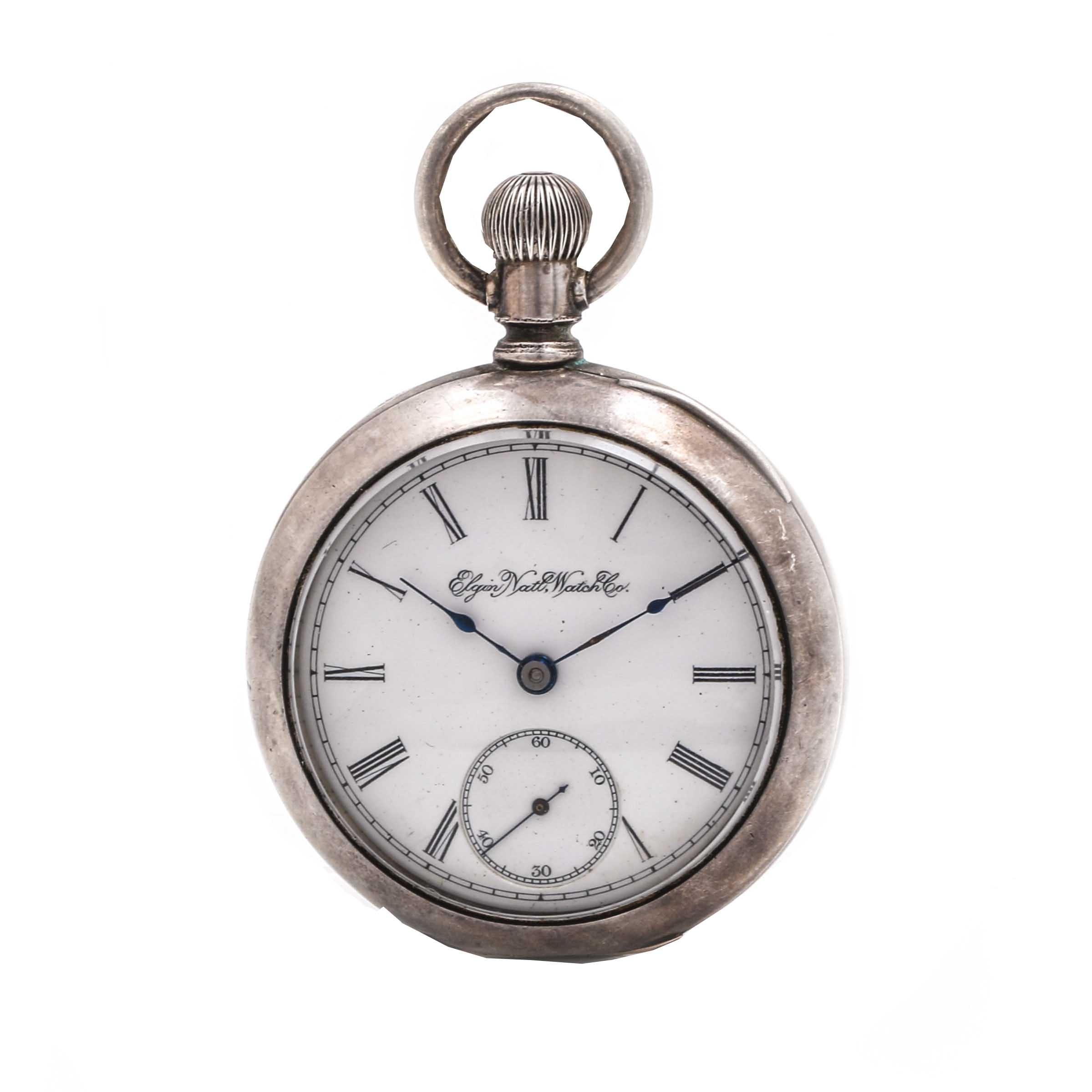 Antique Elgin National Watch Co. Pocket Watch