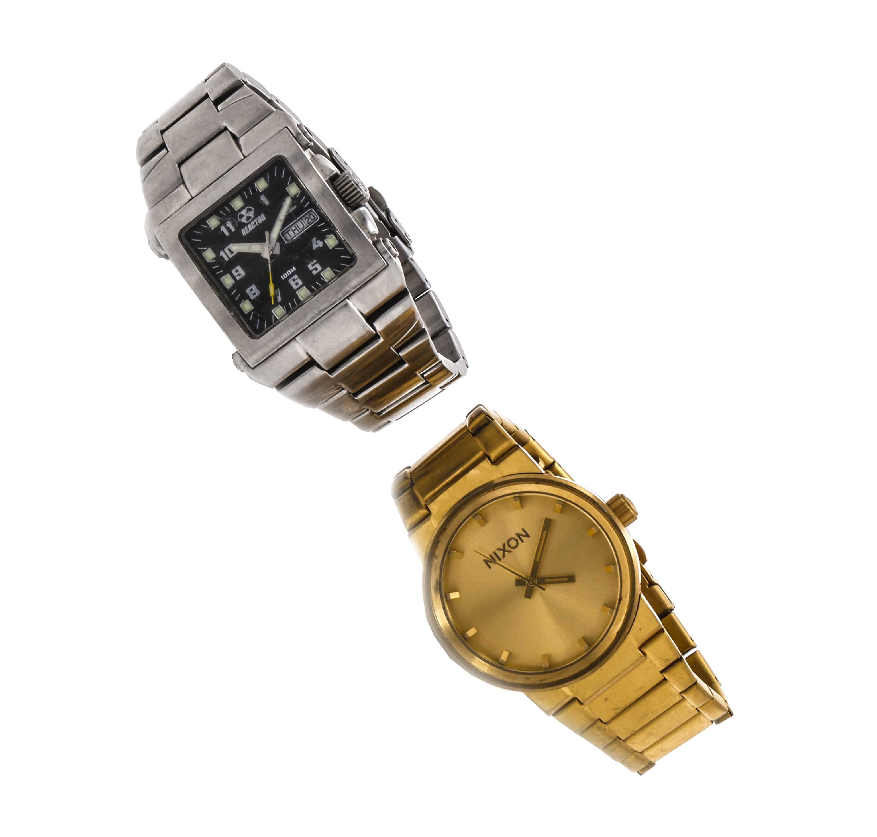 Reactor and Nixon Wristwatches