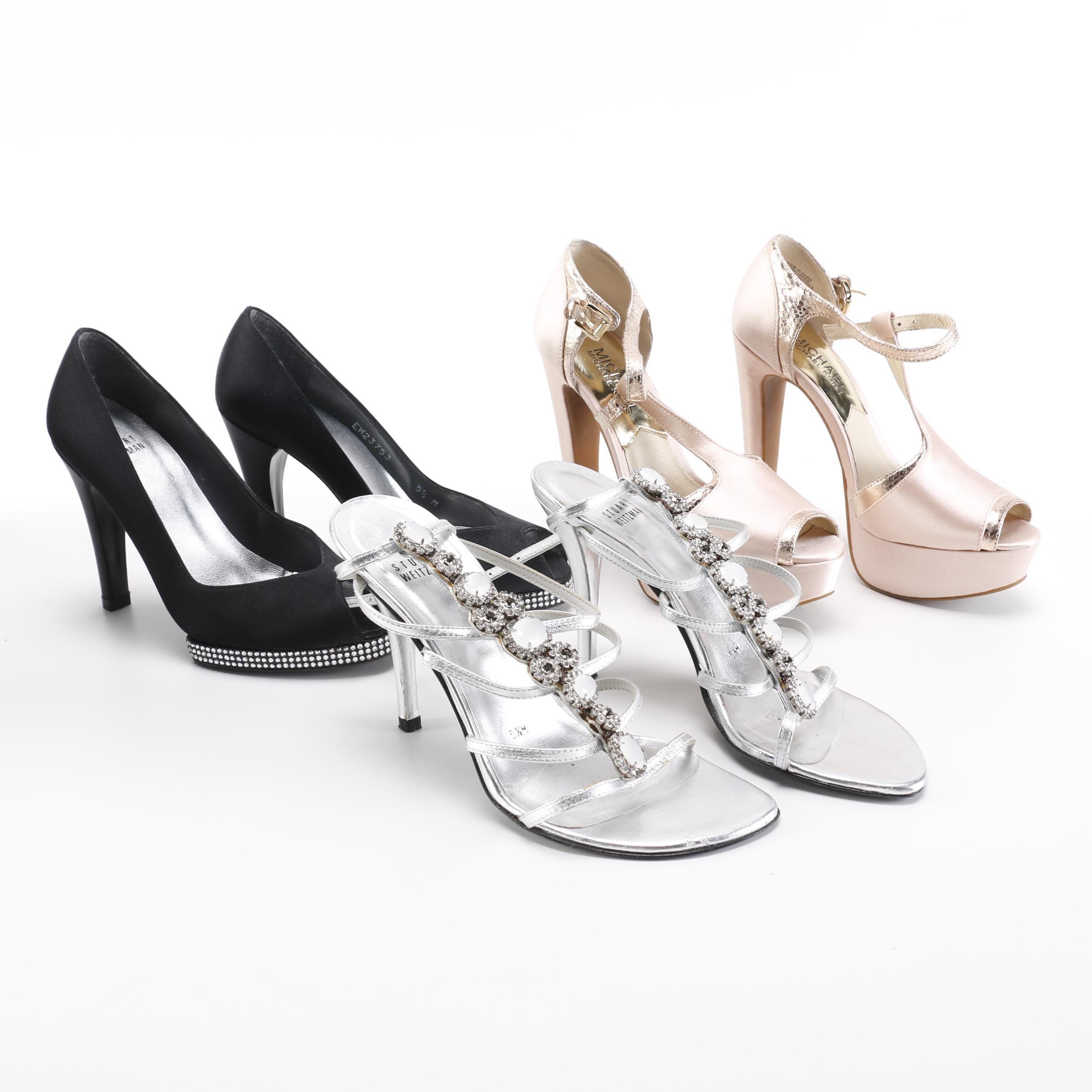 Women's Heels Including Stuart Weitzman and Michael Kors