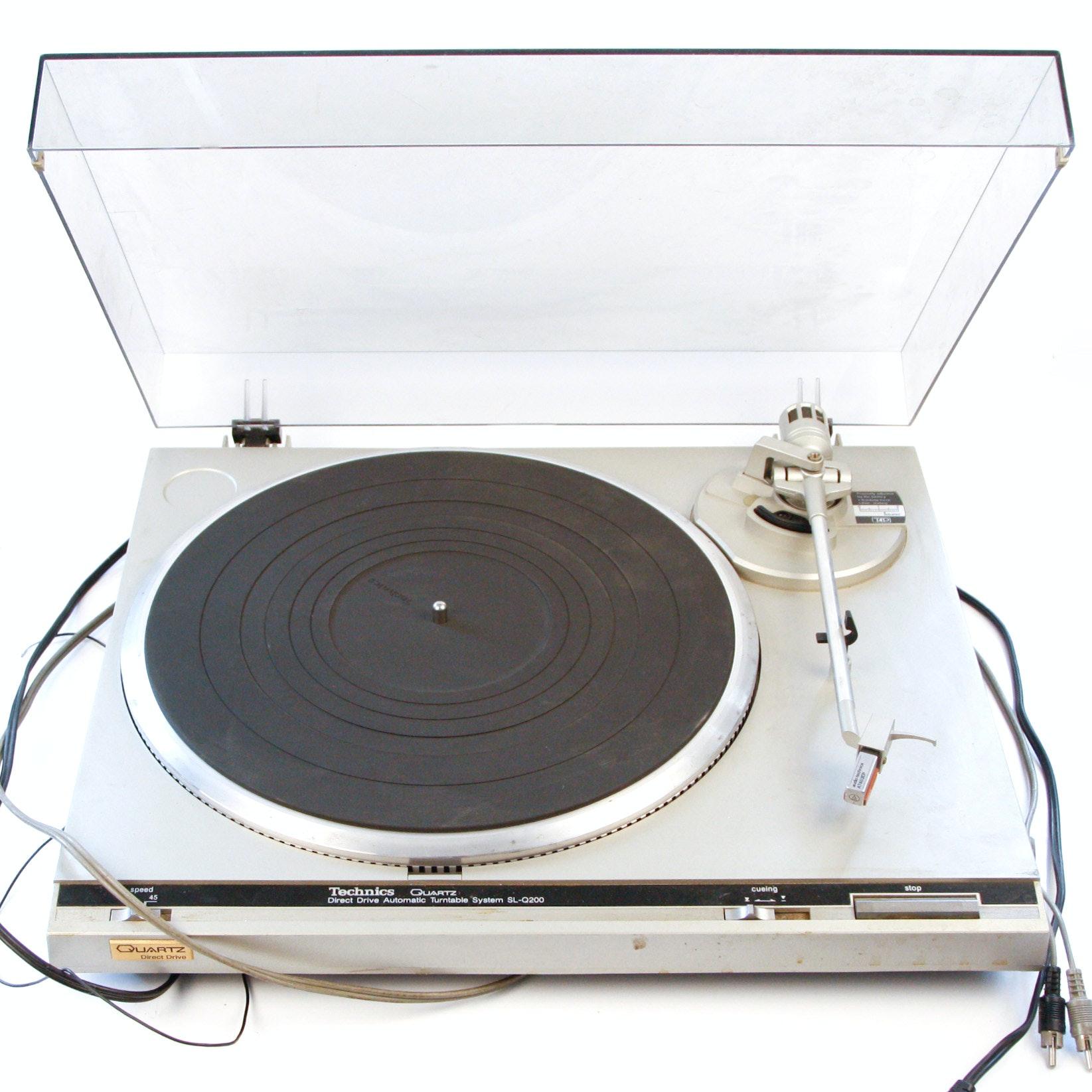 Vintage Technics Turntable