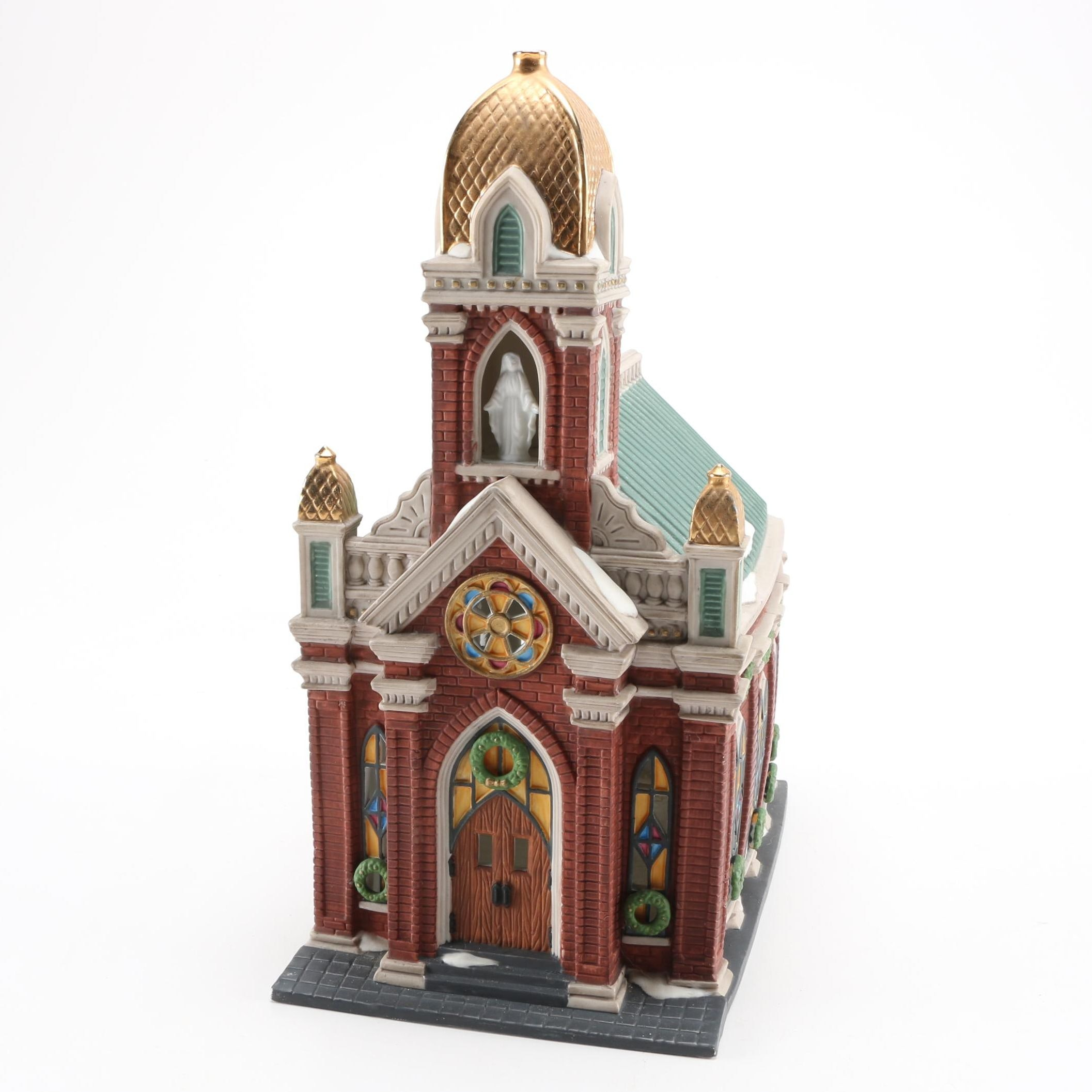 """""""Holy Name Church"""" Figurine by the Christmas in The City Series"""