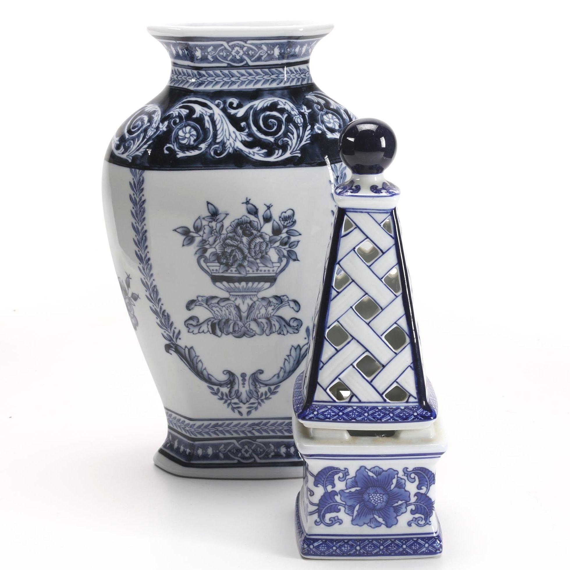 Bombay Vase and Obelisk