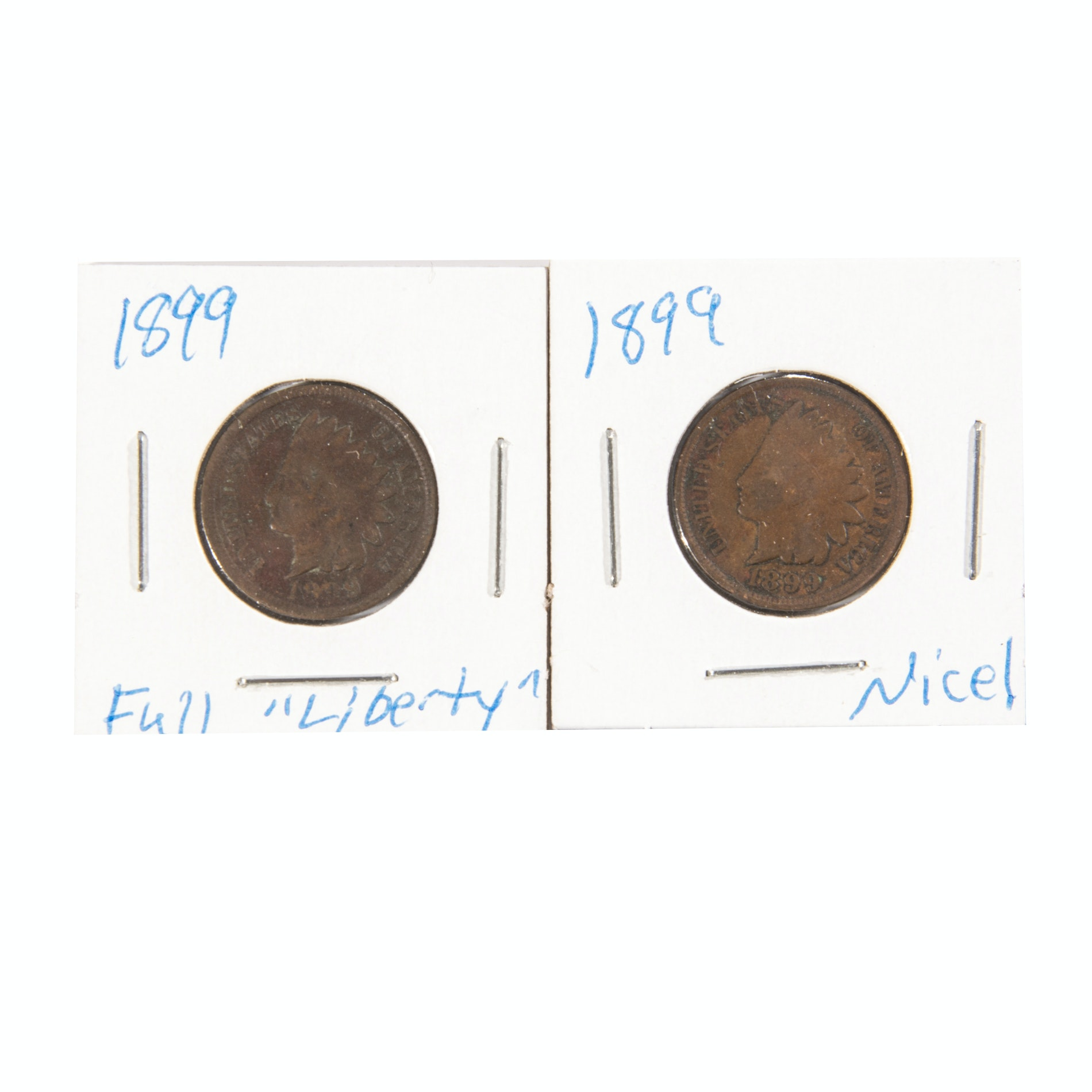 1899 Indian Head One Cent Coins