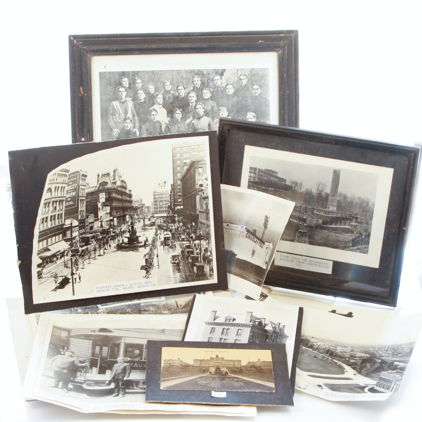 Collection of Historic Cincinnati Albumens and Photographic Prints