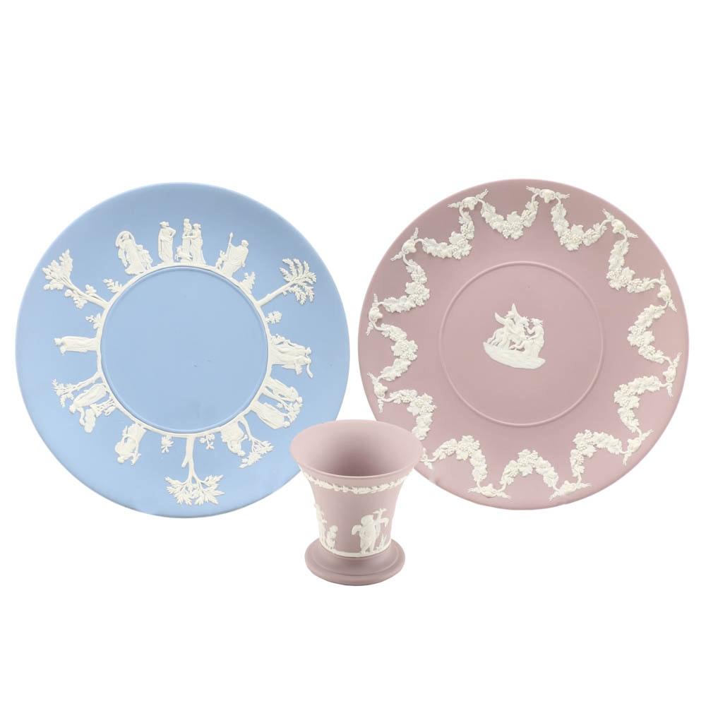 Three Wedgwood Jasperware Pieces