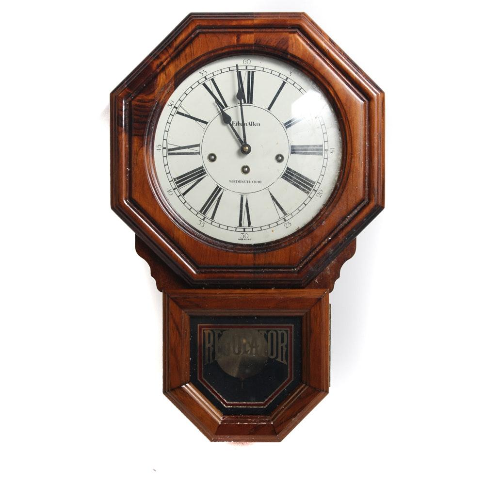 Ethan Allen Regulator Clock
