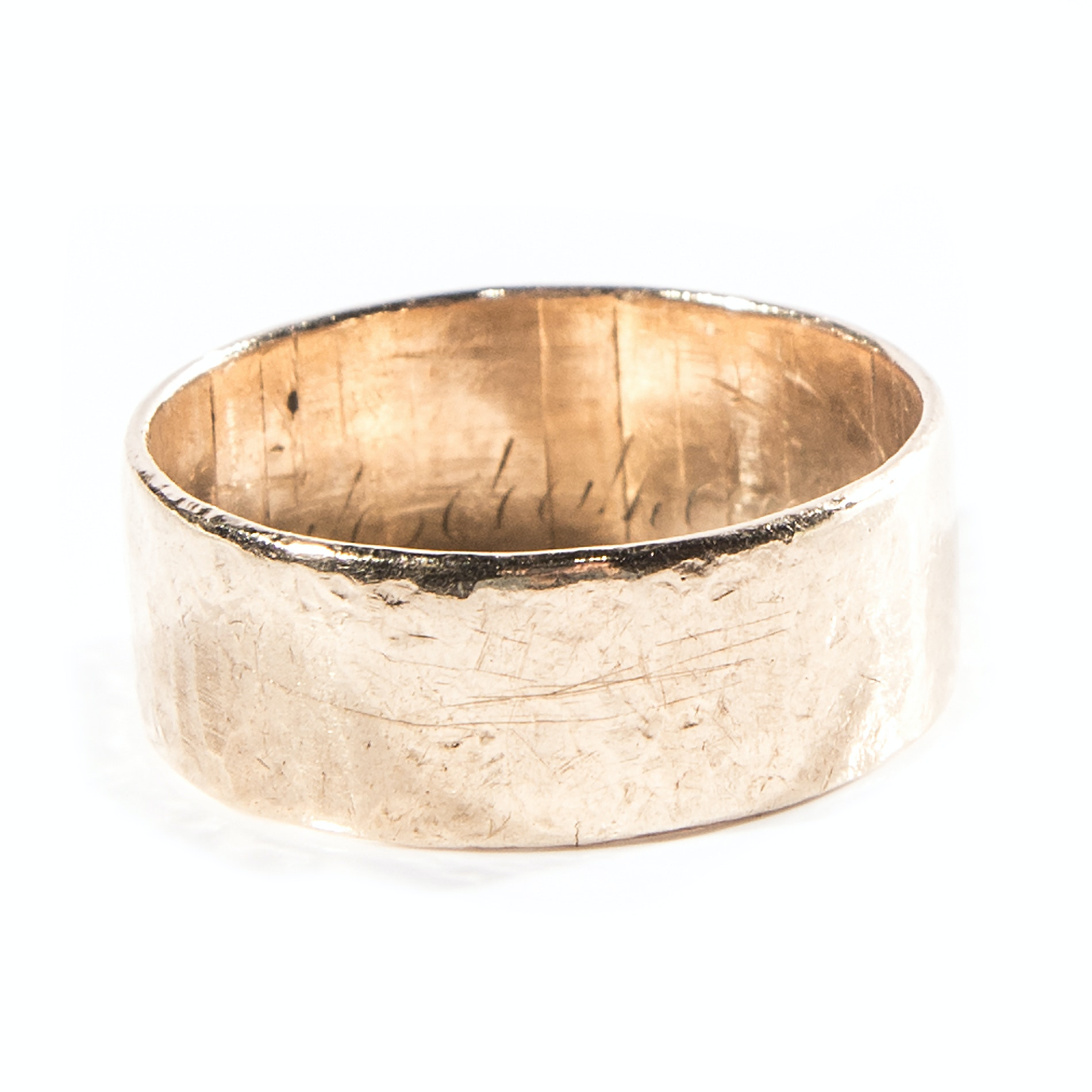 Men's 10K Yellow Gold Band