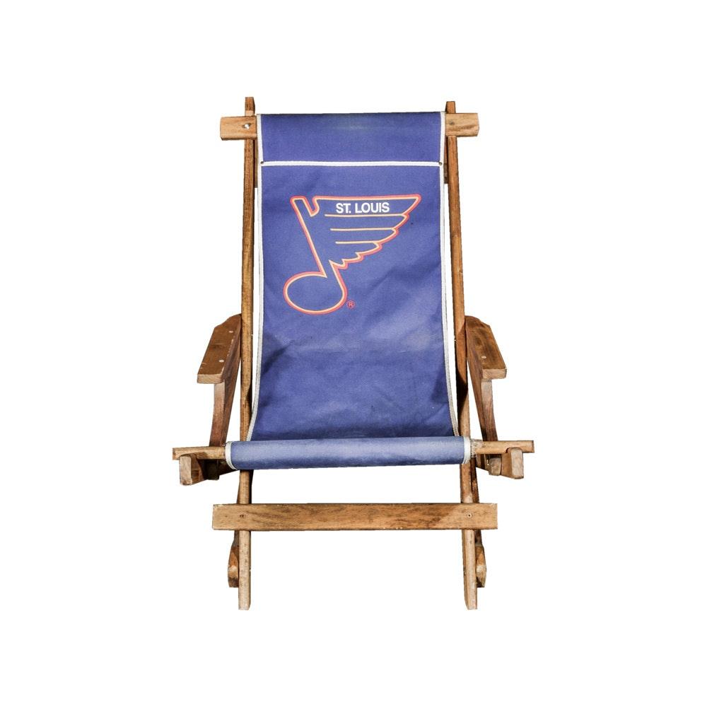 St. Louis Blues Wooden Folding Chair