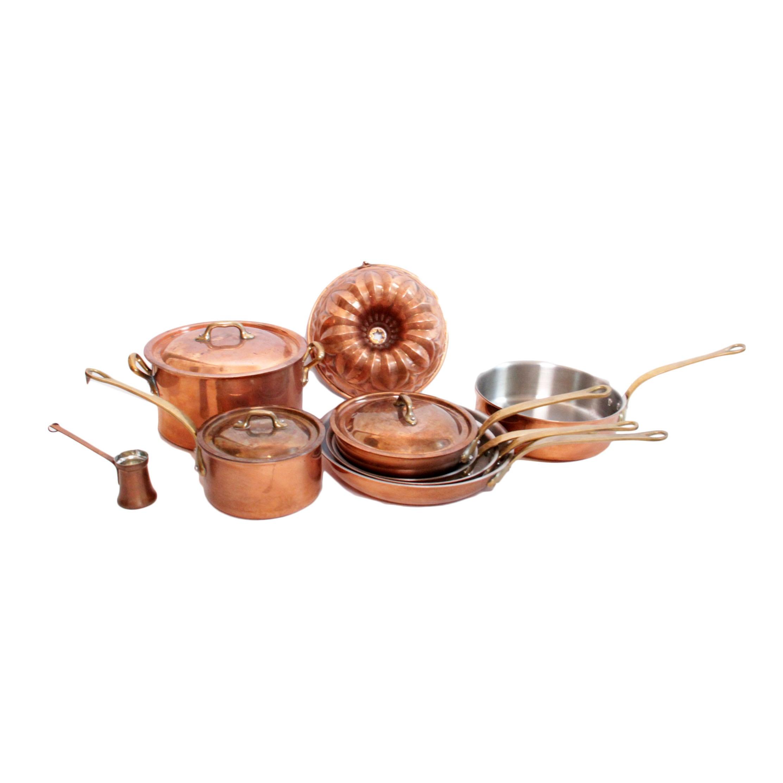 William Sonoma Copper Pots