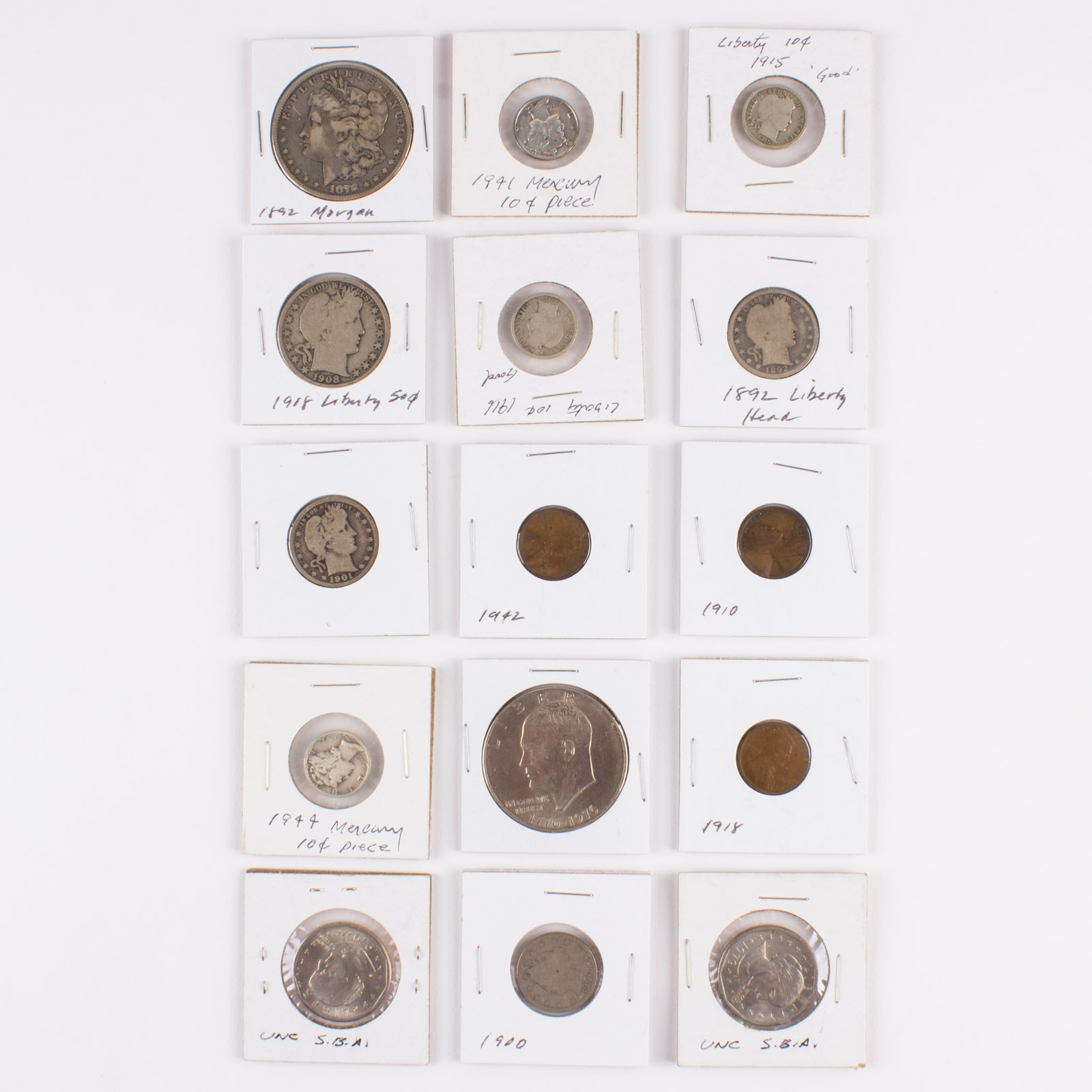 United States Coin Collection 1878-1979