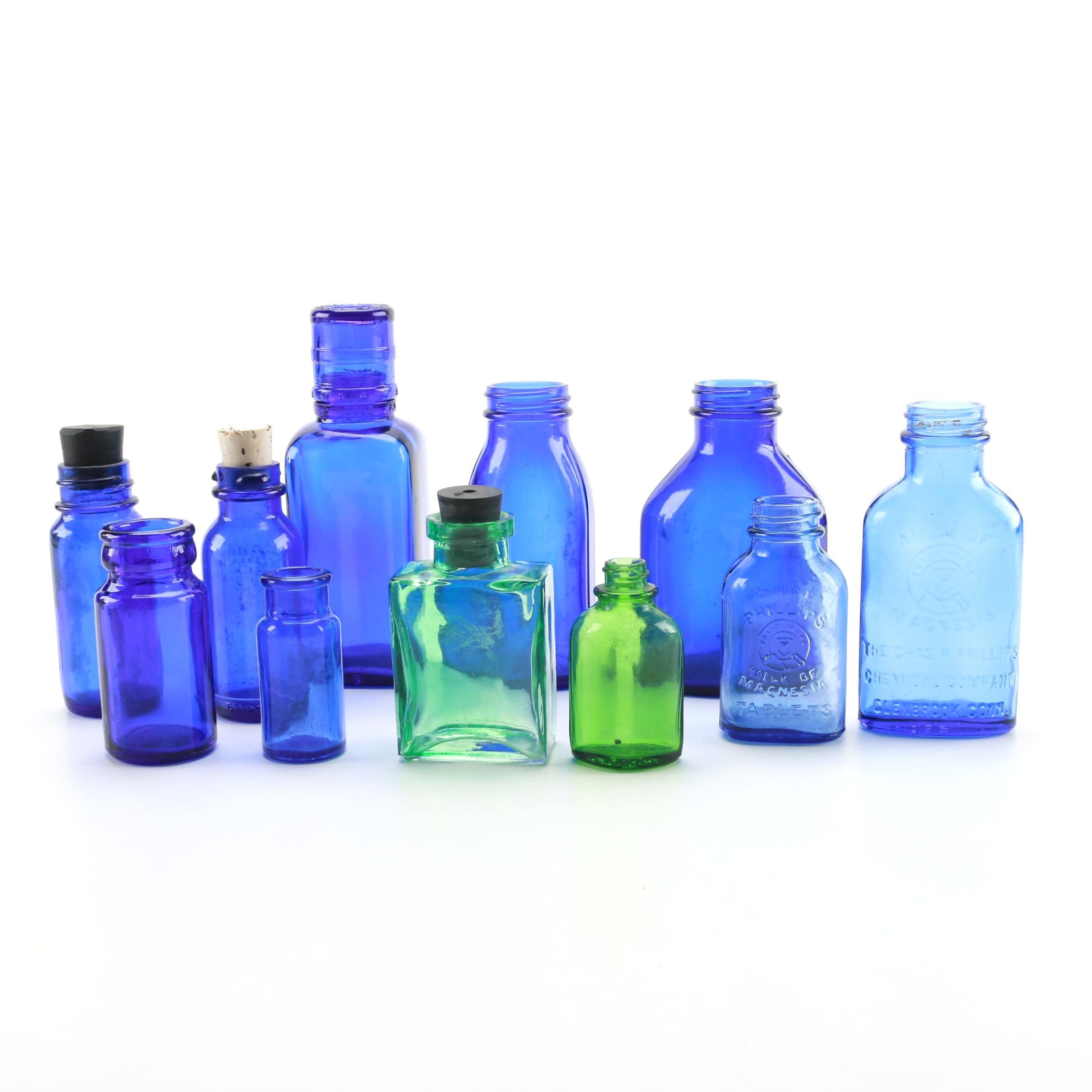 Assortment of Medicinal Bottles