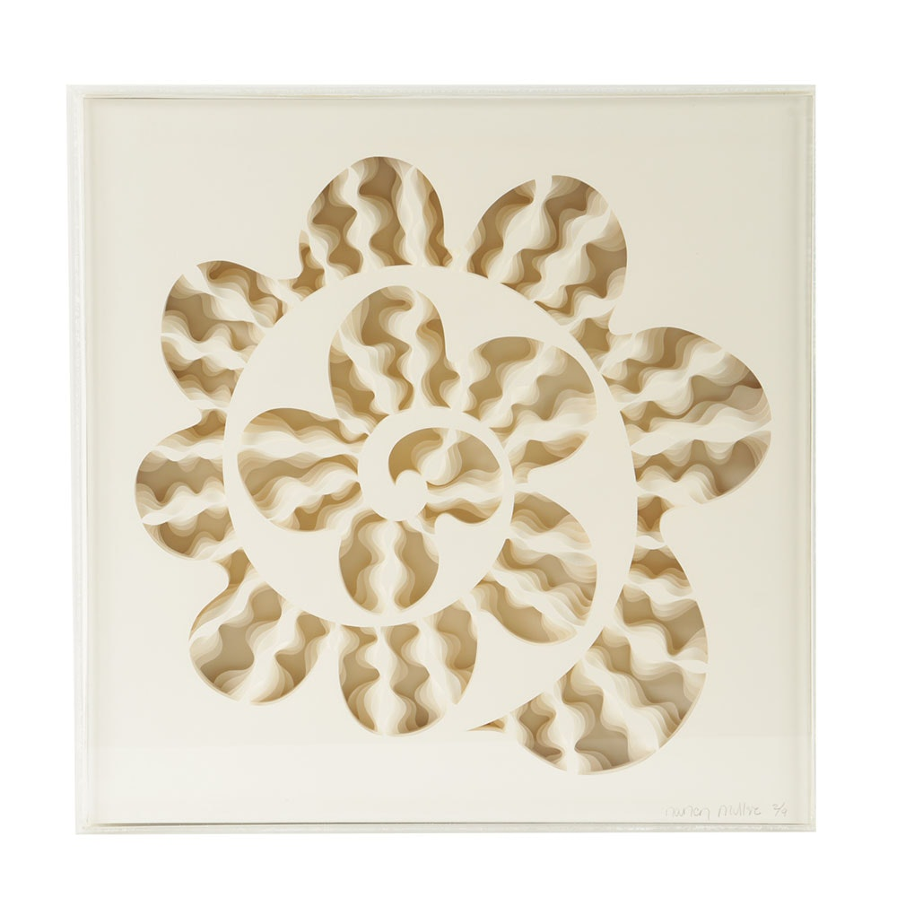 """Nancy Muller Limited Edition Cut Paper oPit """"Cephalopodia"""""""