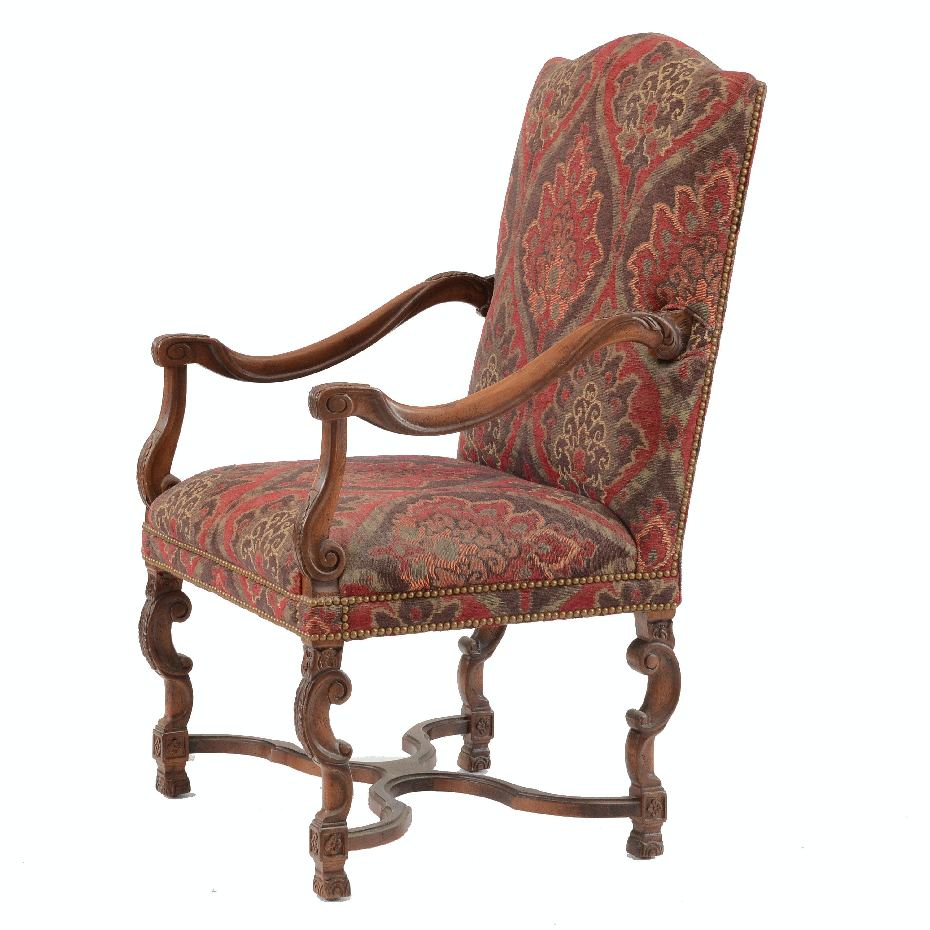 Sherrill Renaissance Style Arm Chair