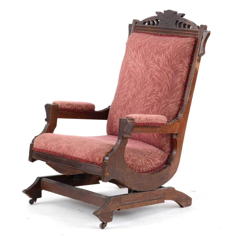 Victorian Platform Rocking Chair
