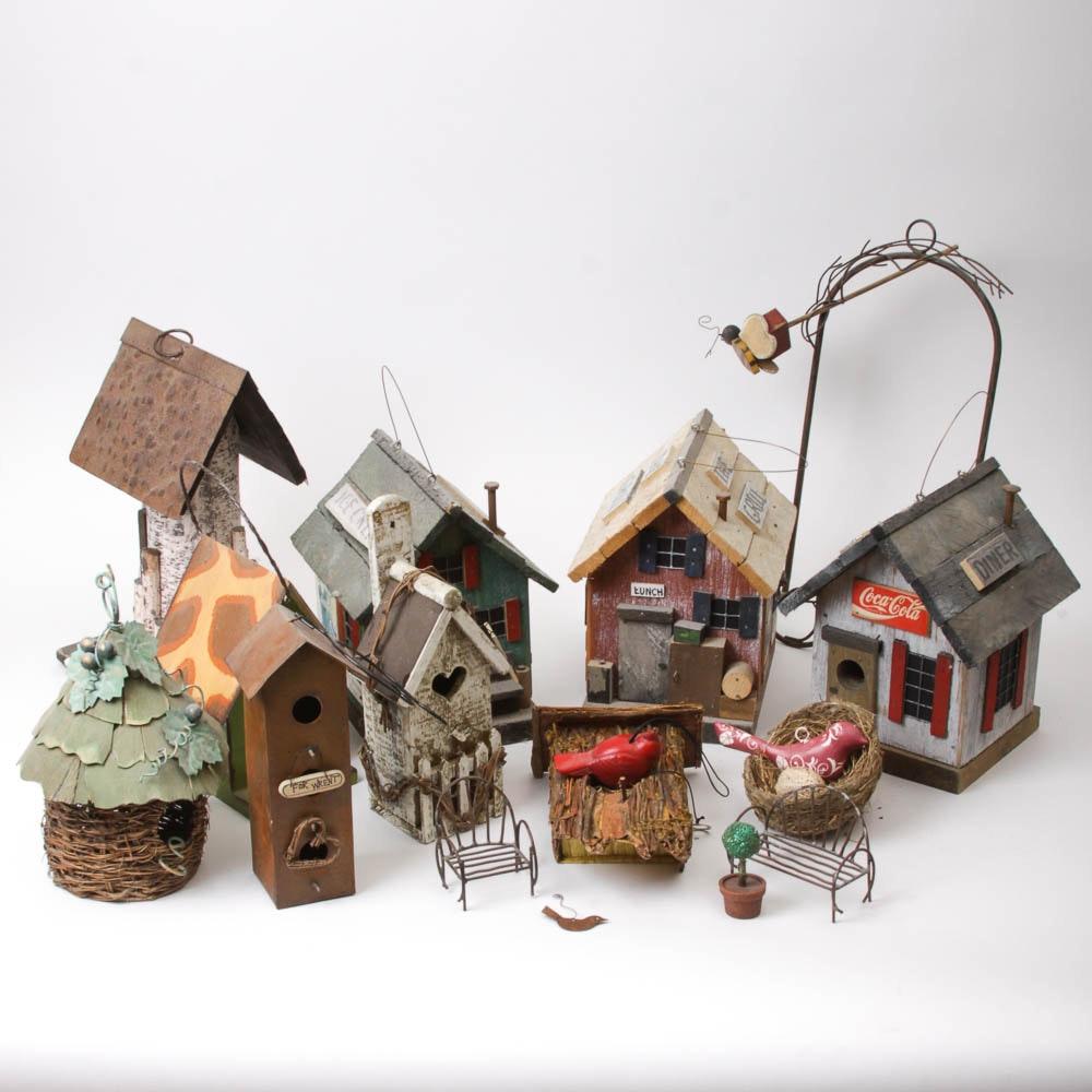 Birdhouse Outdoor Decor Assortment