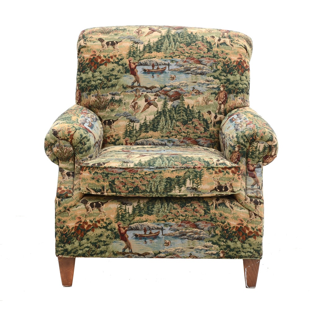 Hunting / Fishing Upholstered Lounge Chair