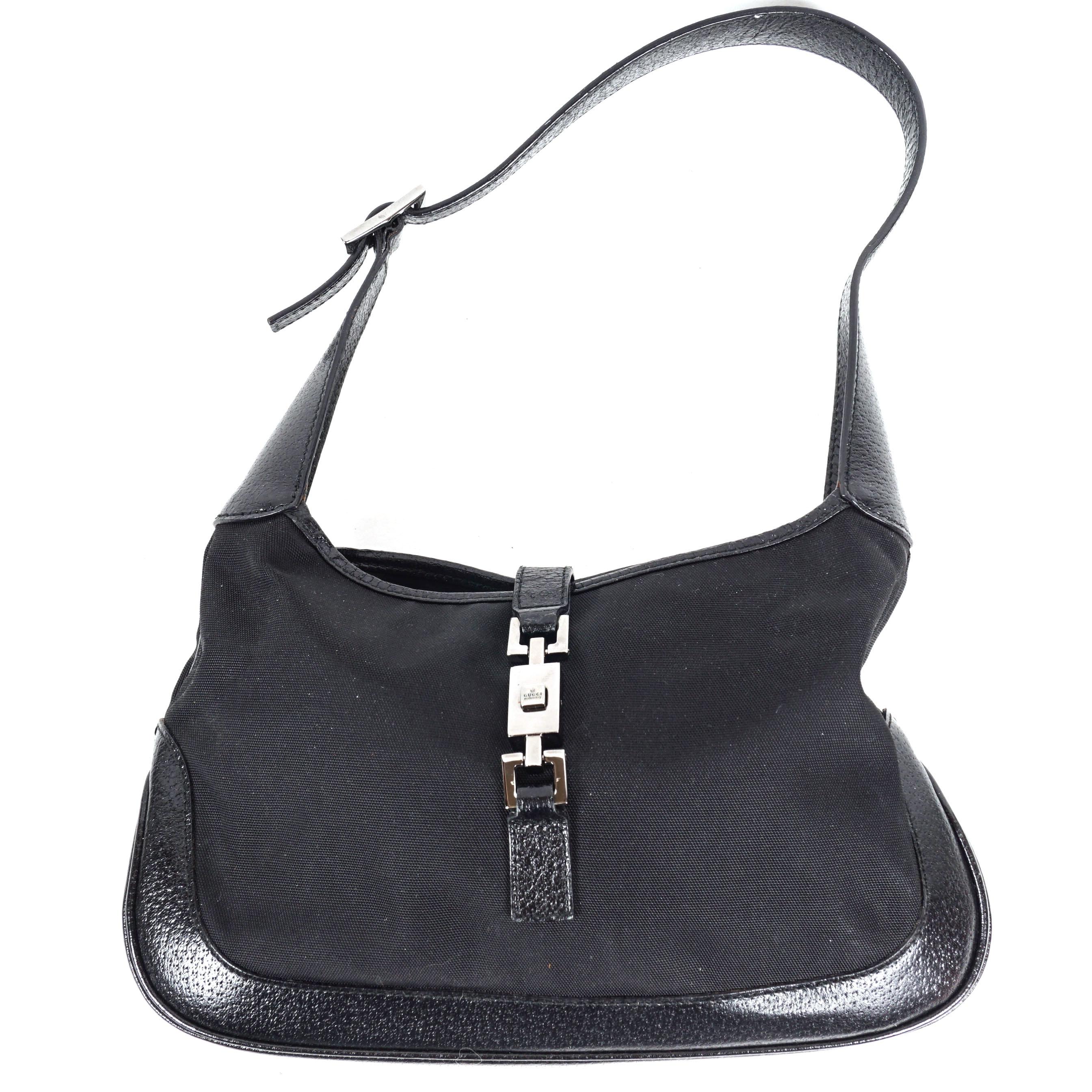 Gucci Black Jackie O Small Hobo Bag